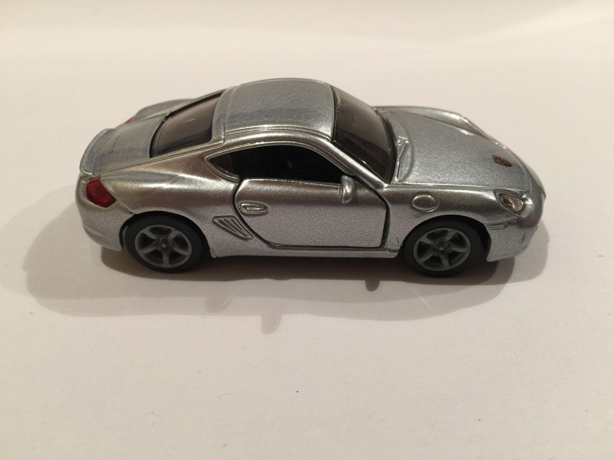 Porsche Cayman S Nr.1433 silbermetallic