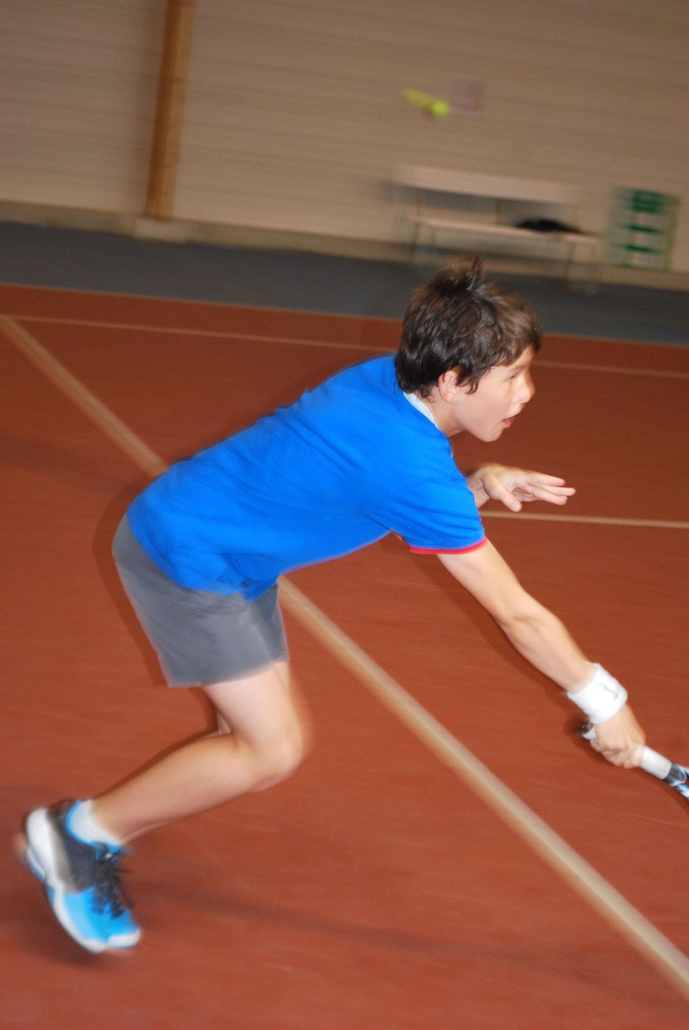 Un champion de l'Aube en pleine action, Benoît!