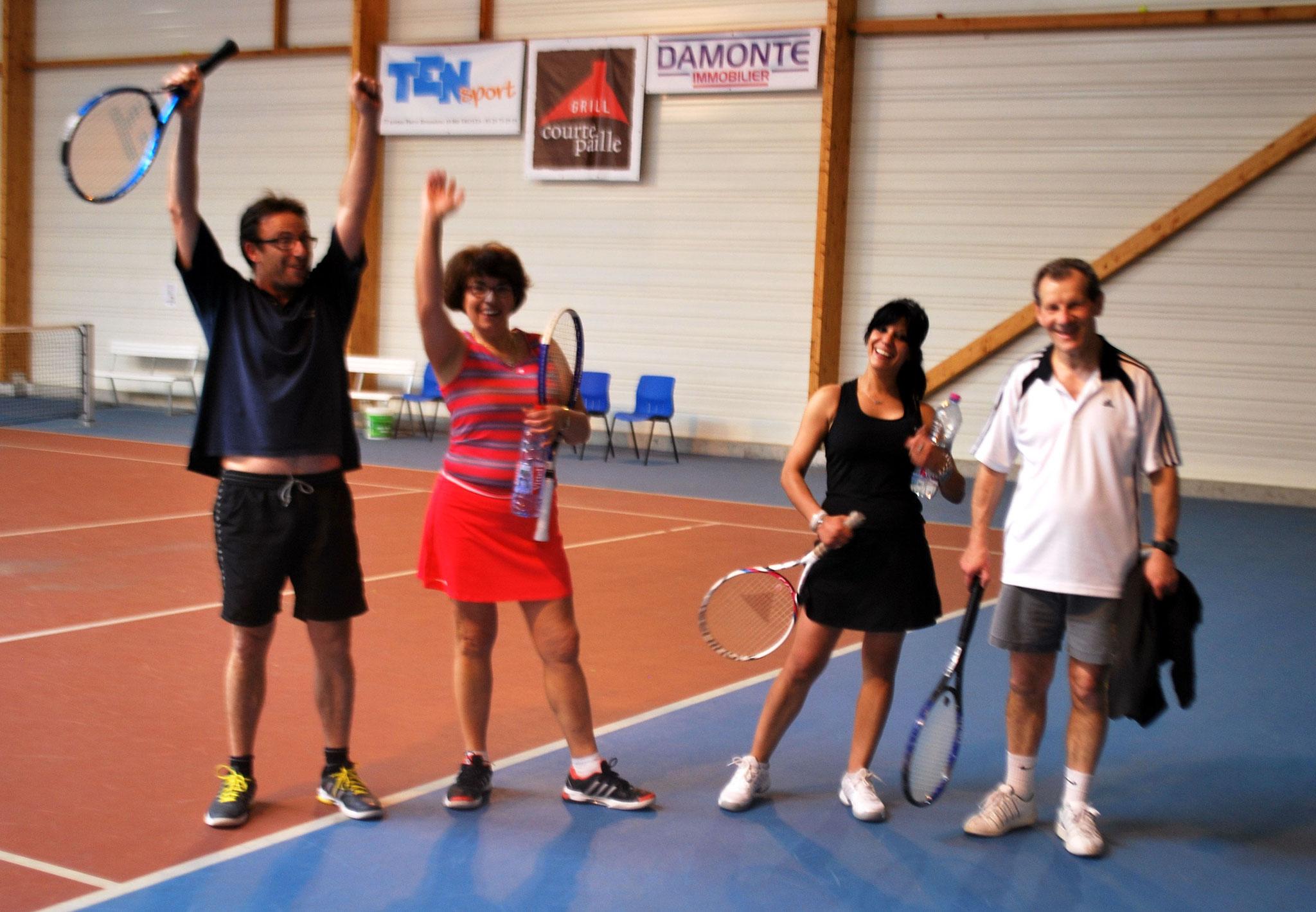 Yann, Françoise, Amal et Serge