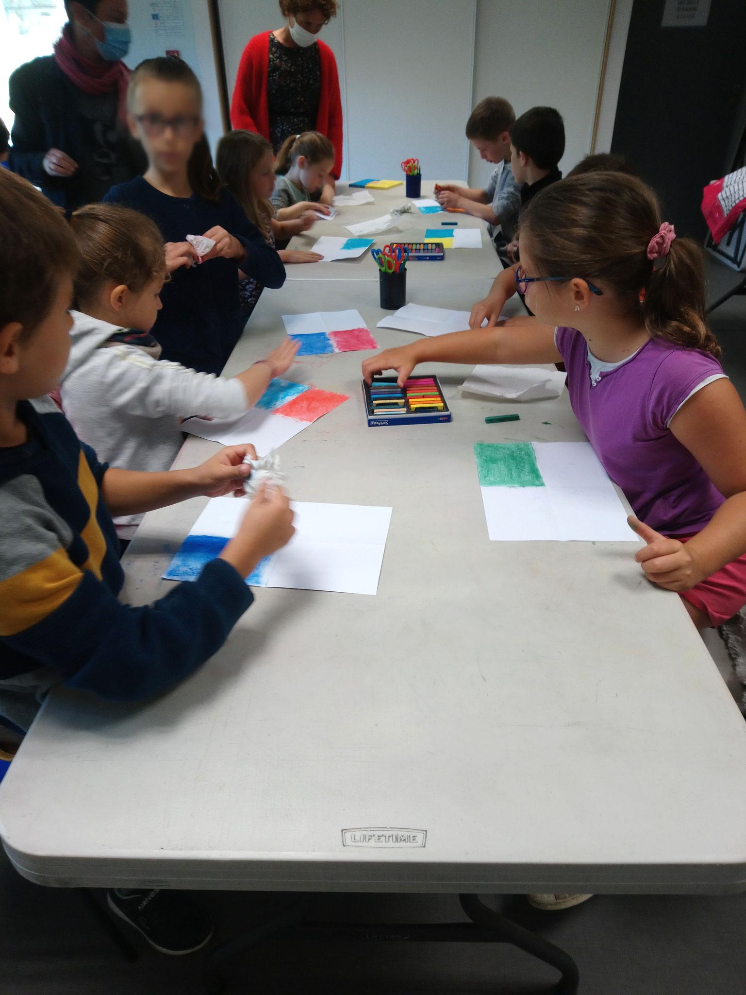 Classe de CE2 de l'école élémentaire publique du Pays Pourpré, Montfort-sur-Meu
