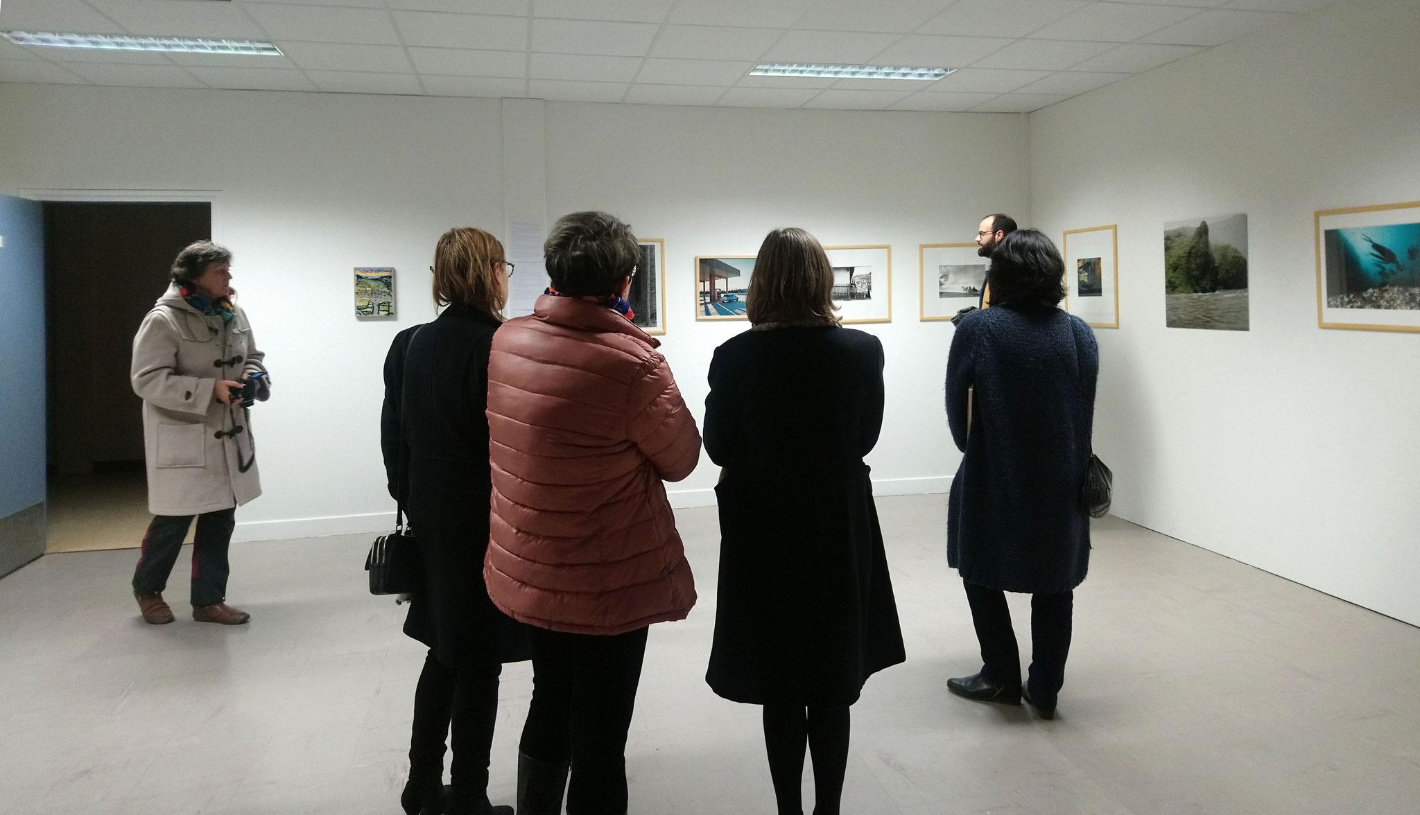 Vernissage de l'exposition Paysage