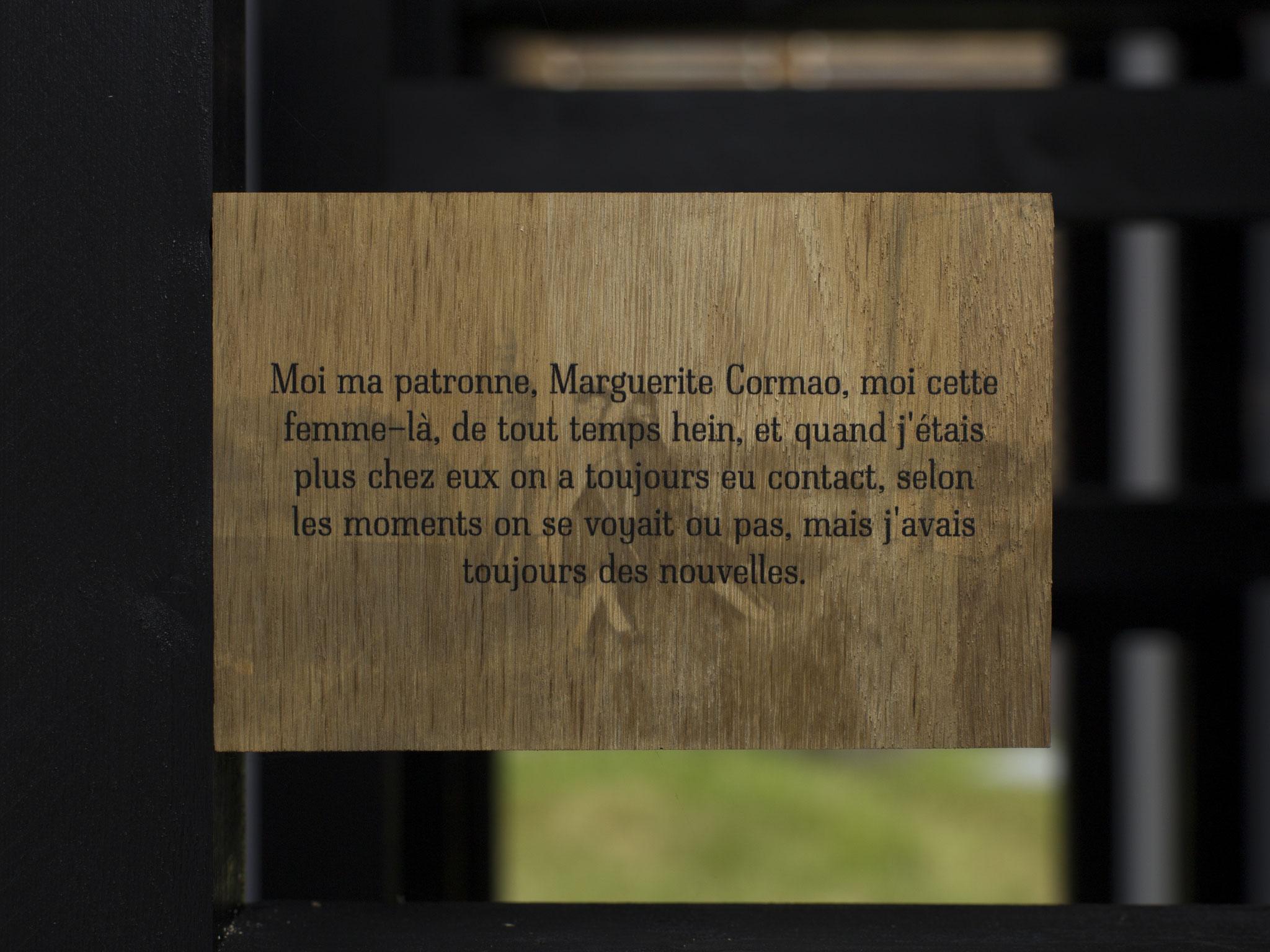 """Vue de l'exposition """"Alors que la nuit tombe"""". Photo : Maxime Voidy"""
