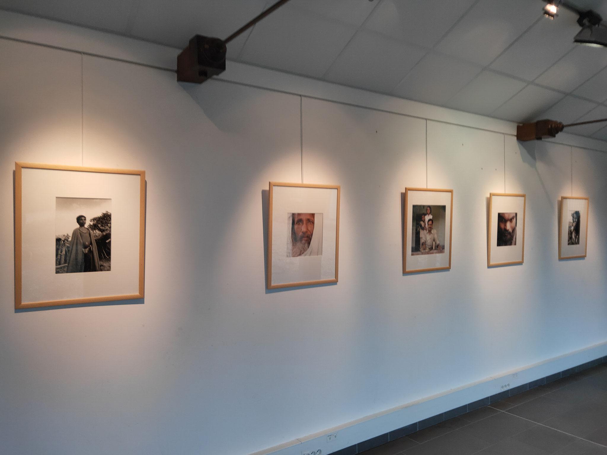 """Médiathèque de Pleumeleuc - Exposition """"L'inde en portrait"""""""