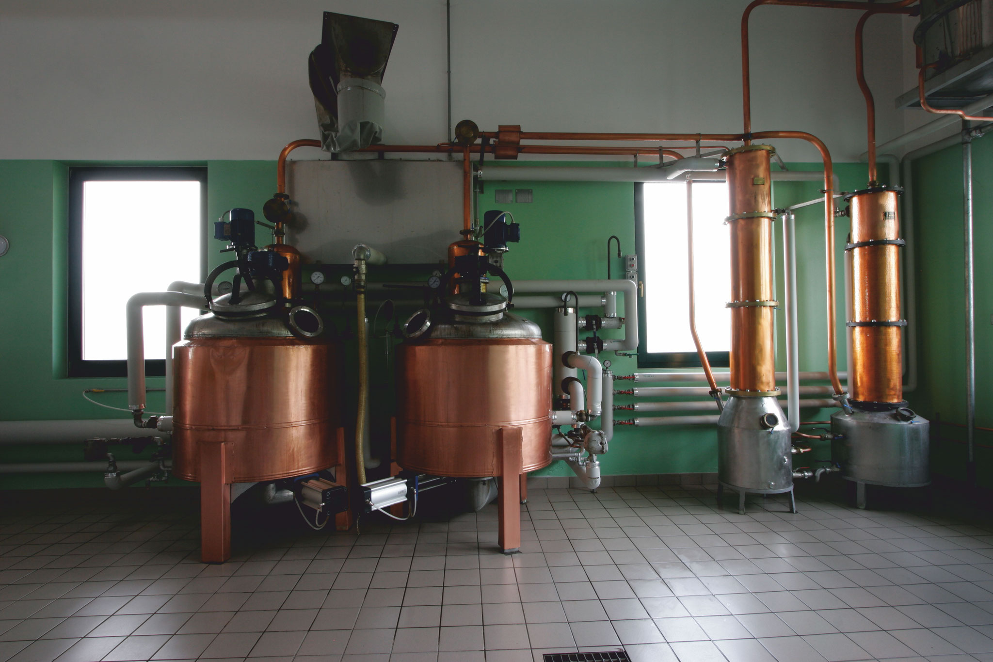 Distilleria Fedrizzi | produzione artigianale | processi 12