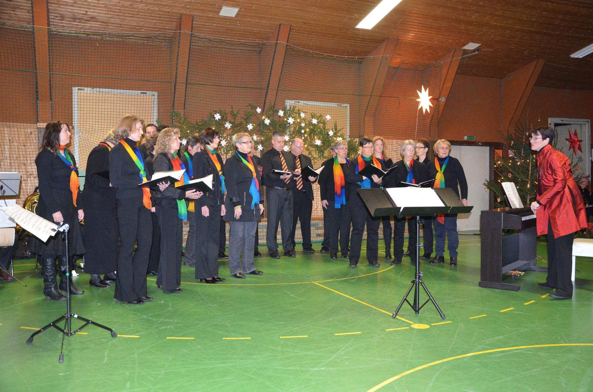 Adventskonzert 2012 in der Sporthalle Nordshausen