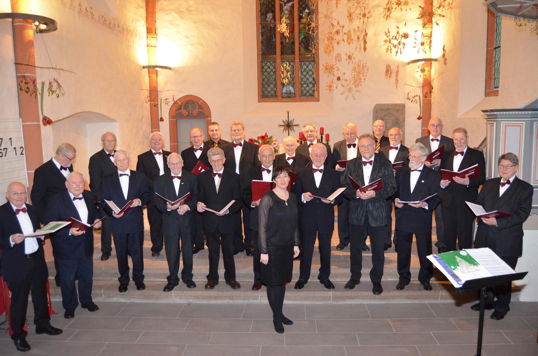 Adventskonzert 2014 mit dem Kasseler Herrenchor