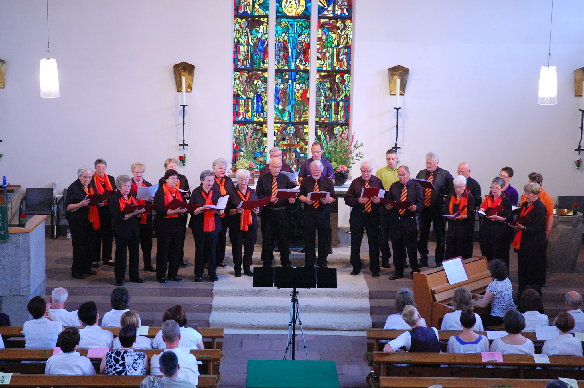 Jubiläumskonzert in der Emmauskirche 2012