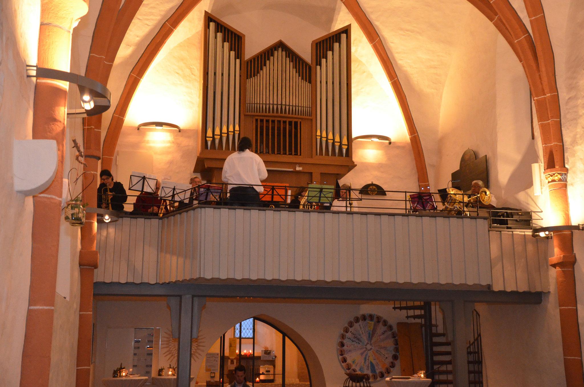 Adventskonzert 2016 mit dem Posaunenchor Nordshausen