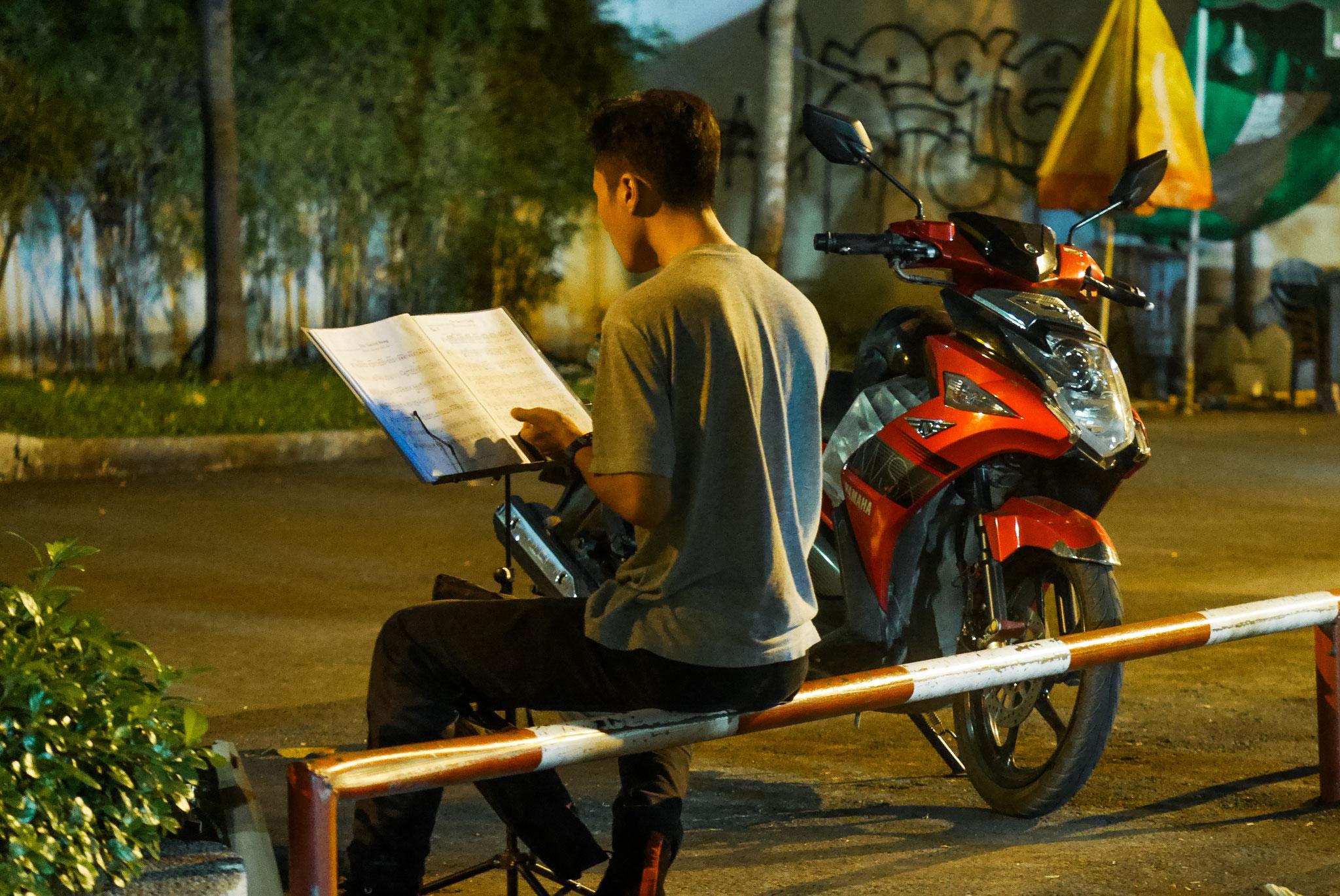 Ho-Chi-Minh-Stadt (Saigon) - Platz zum Üben