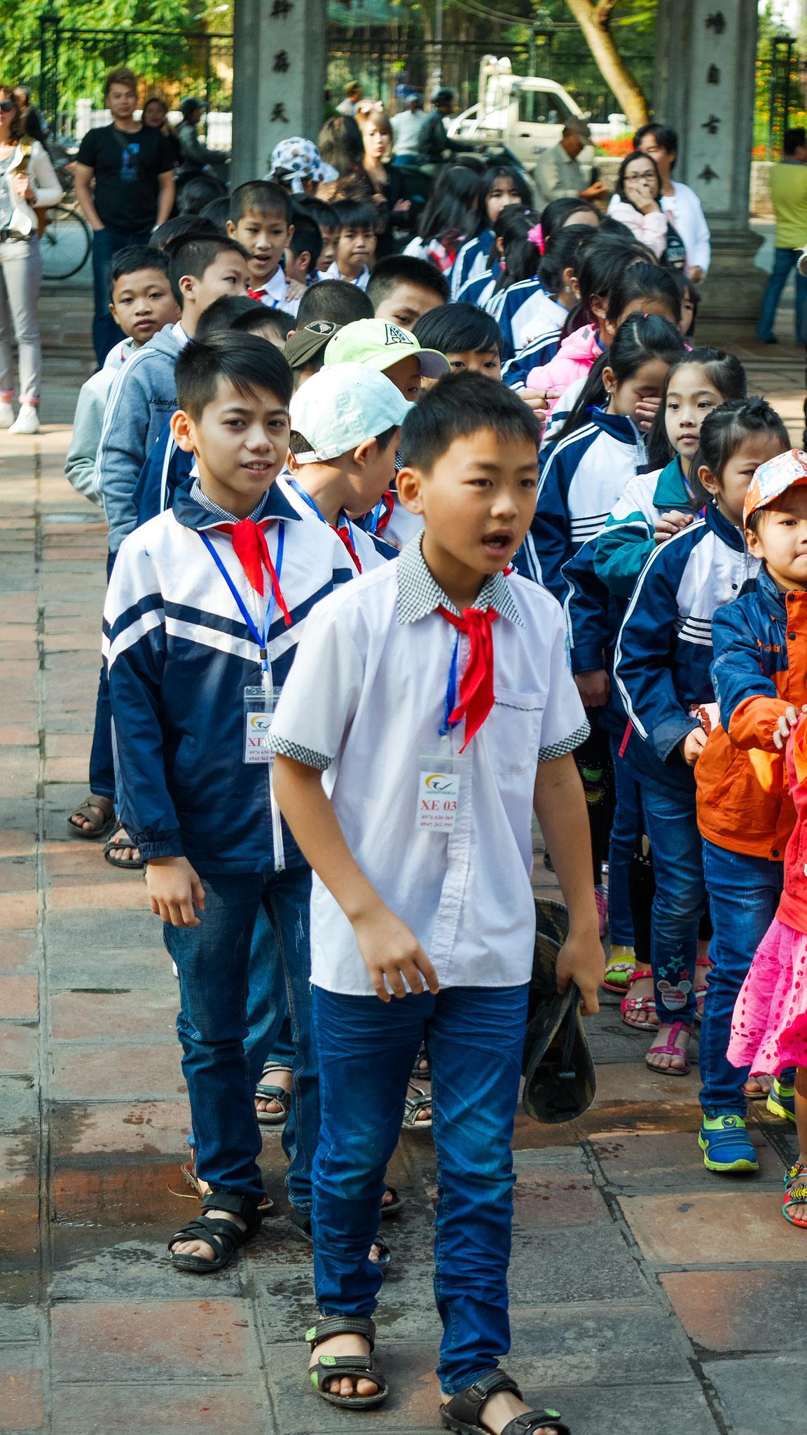 Hanoi - Literaturtempel - Begrüßung