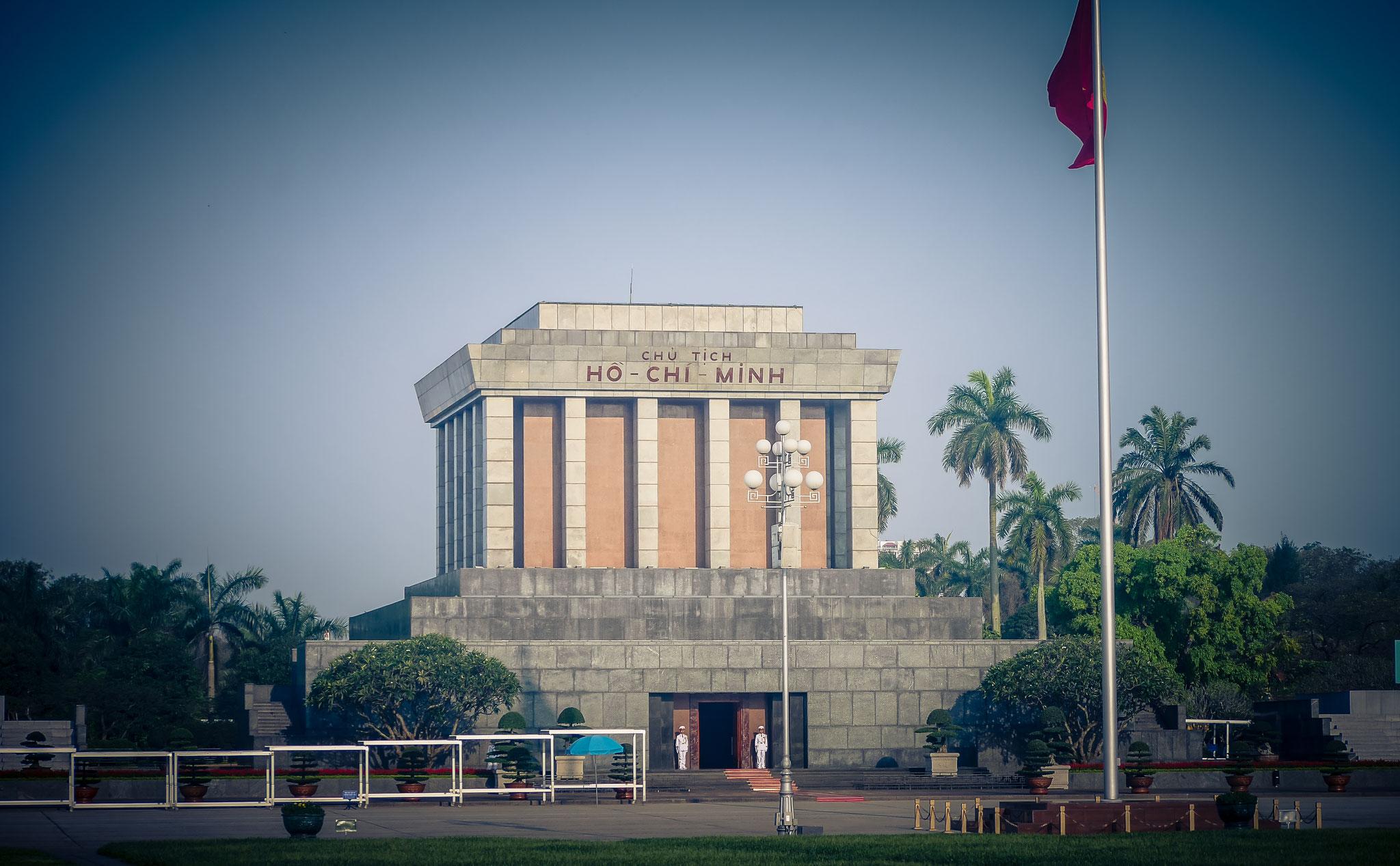 Hanoi - Mousoleum Onkel Ho
