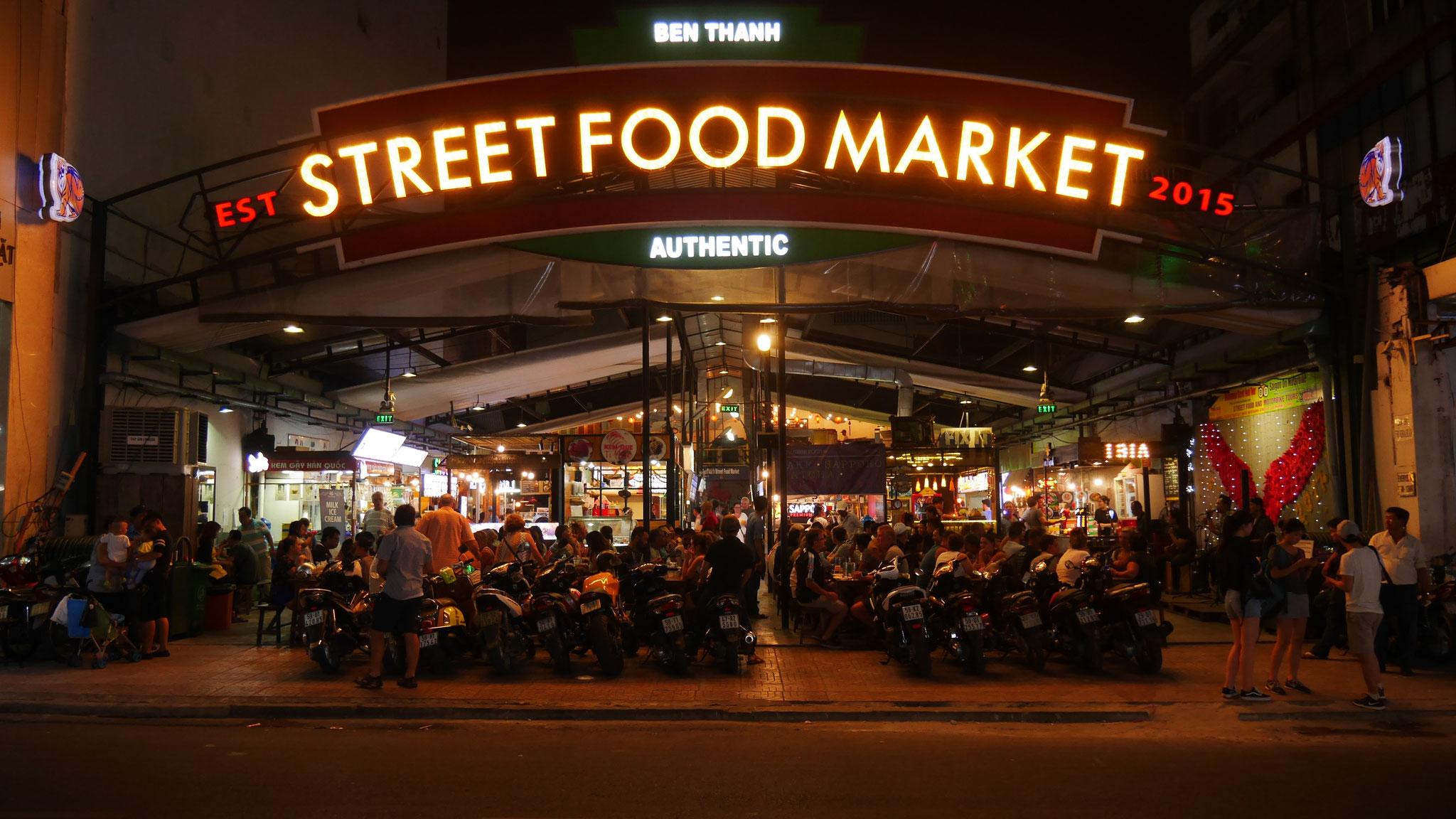 Ho-Chi-Minh-Stadt (Saigon) - Street Food Markt