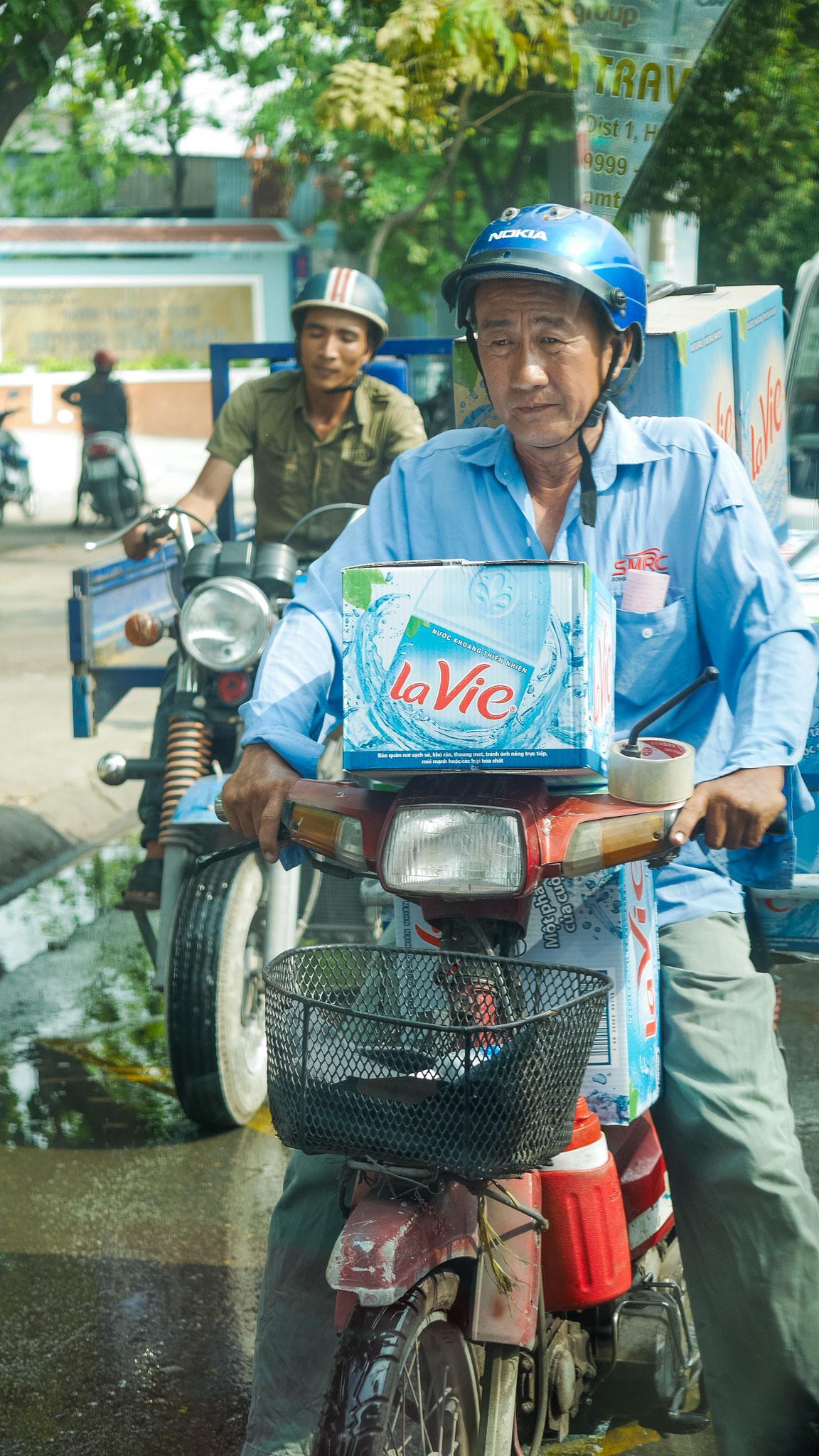 Saigon - diese Mopedfahrer :)