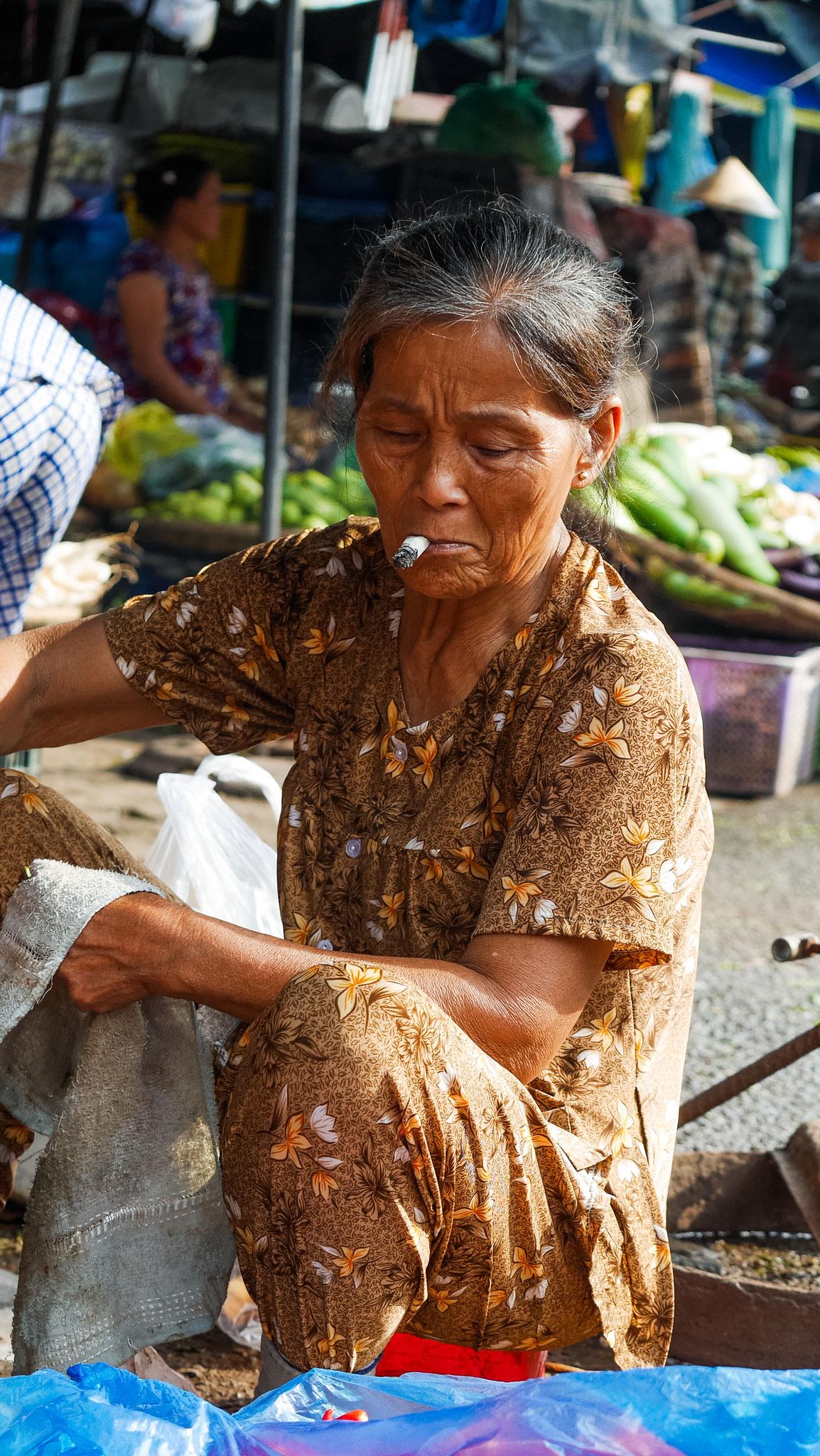 Hue - Dong Ba Markt