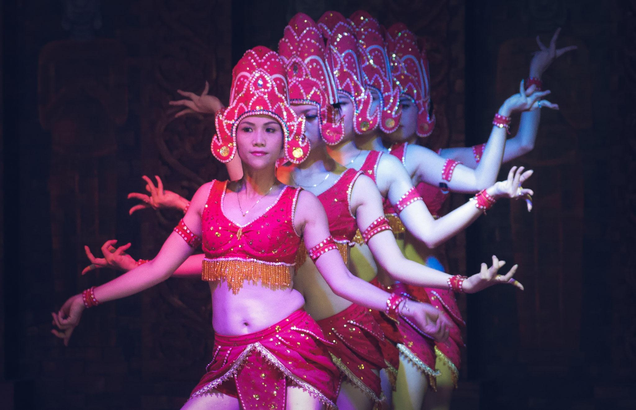 My Son - Tanzdarbietung in der Tempelanlage