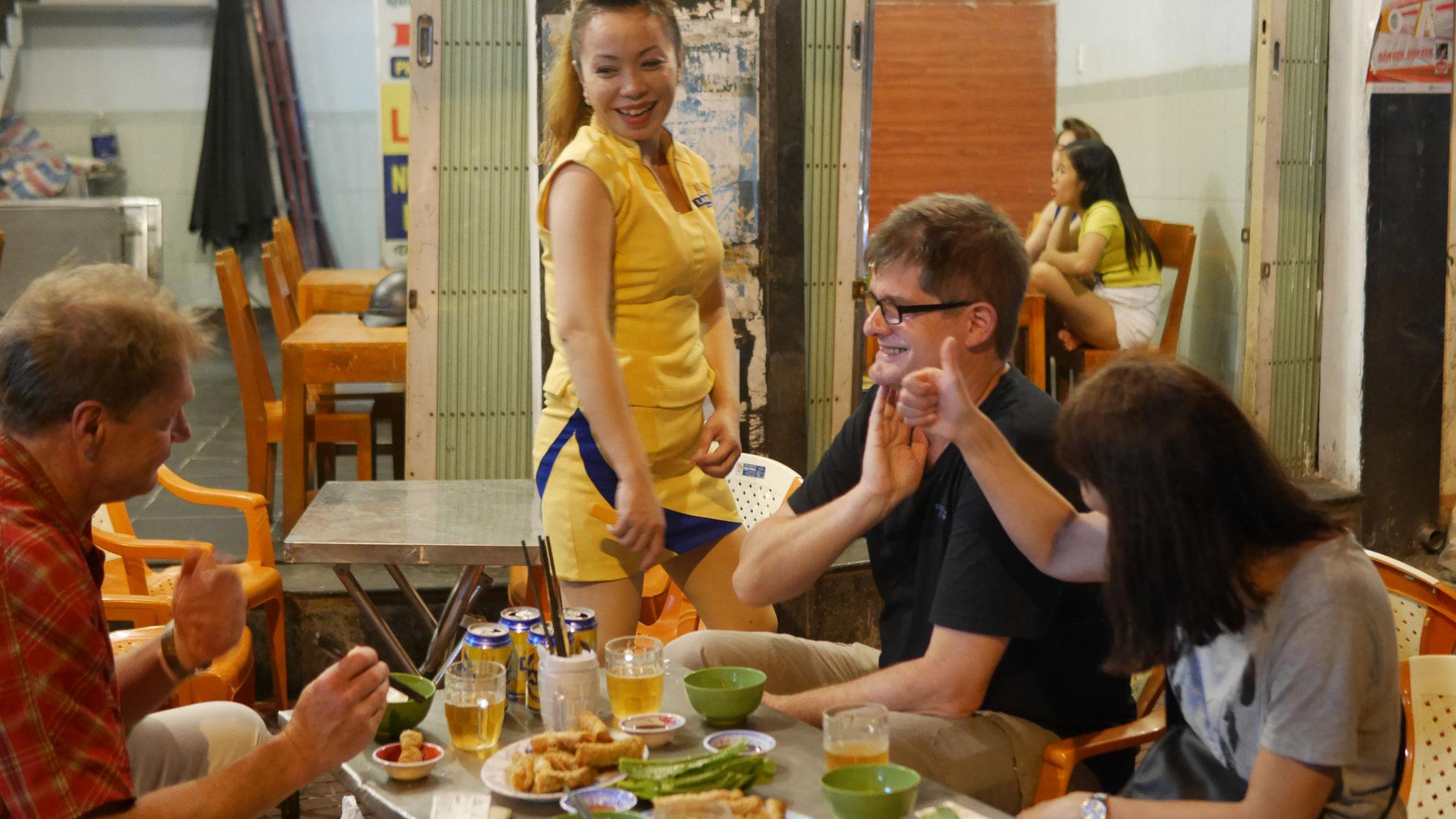 Qui Nhon - Streetfood (im wahrsten Sinne - Lecker!)