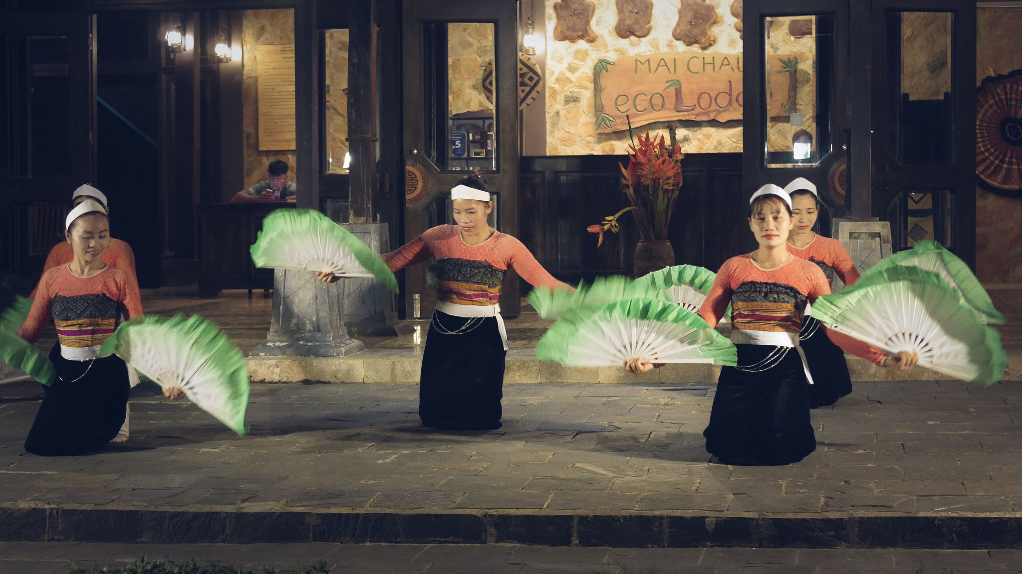 Mai Chau - Tanzveranstaltung Ecolodge