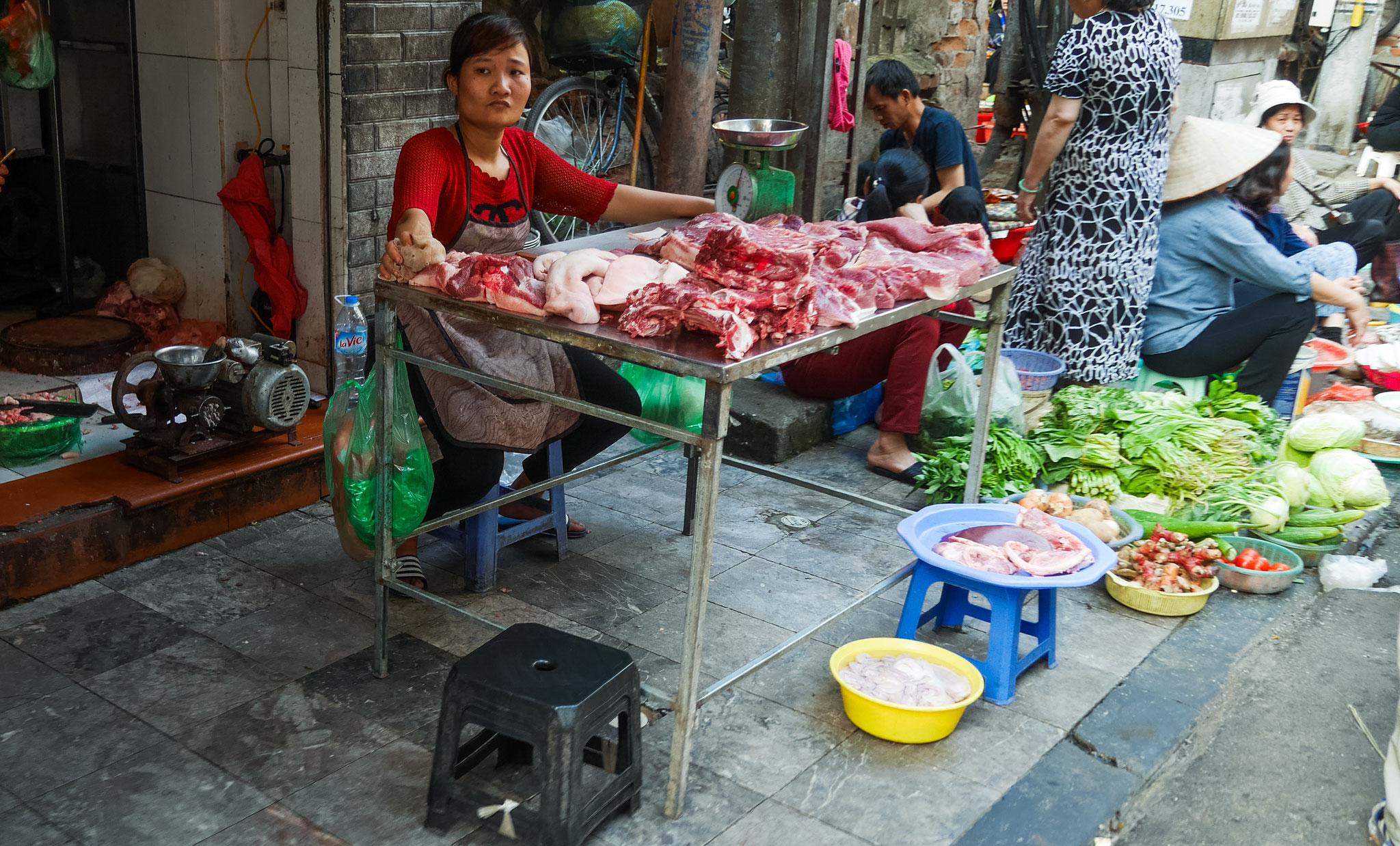 Hanoi - Dong-Xuan- Markt