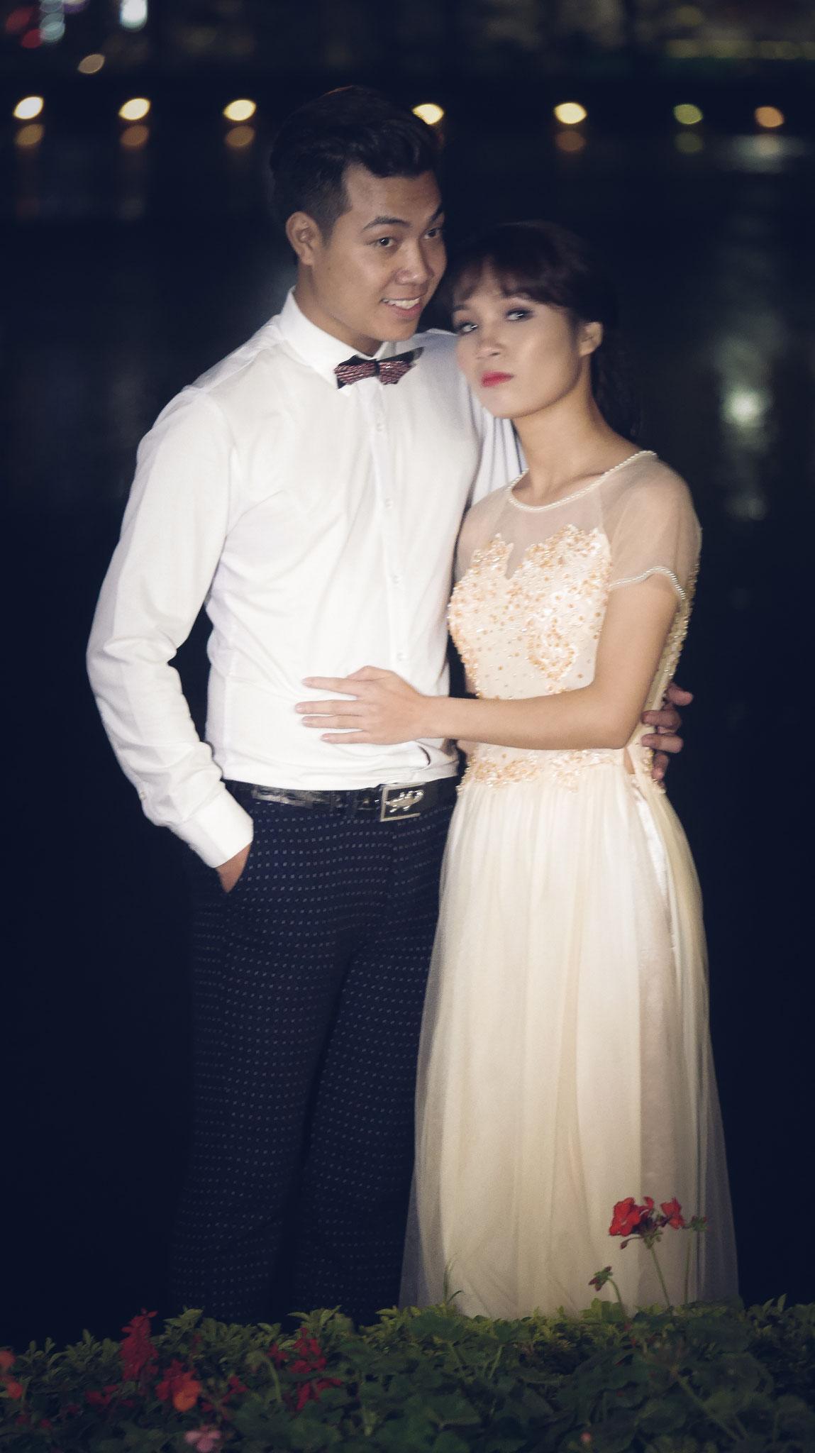 Hanoi - Hoan-Kiem-See Hochzeit