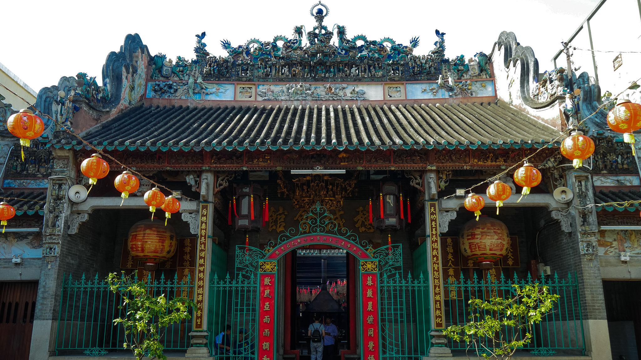 Ho-Chi-Minh-Stadt (Saigon) - unterwegs in Chinatown - Ba Thien Hau Temple