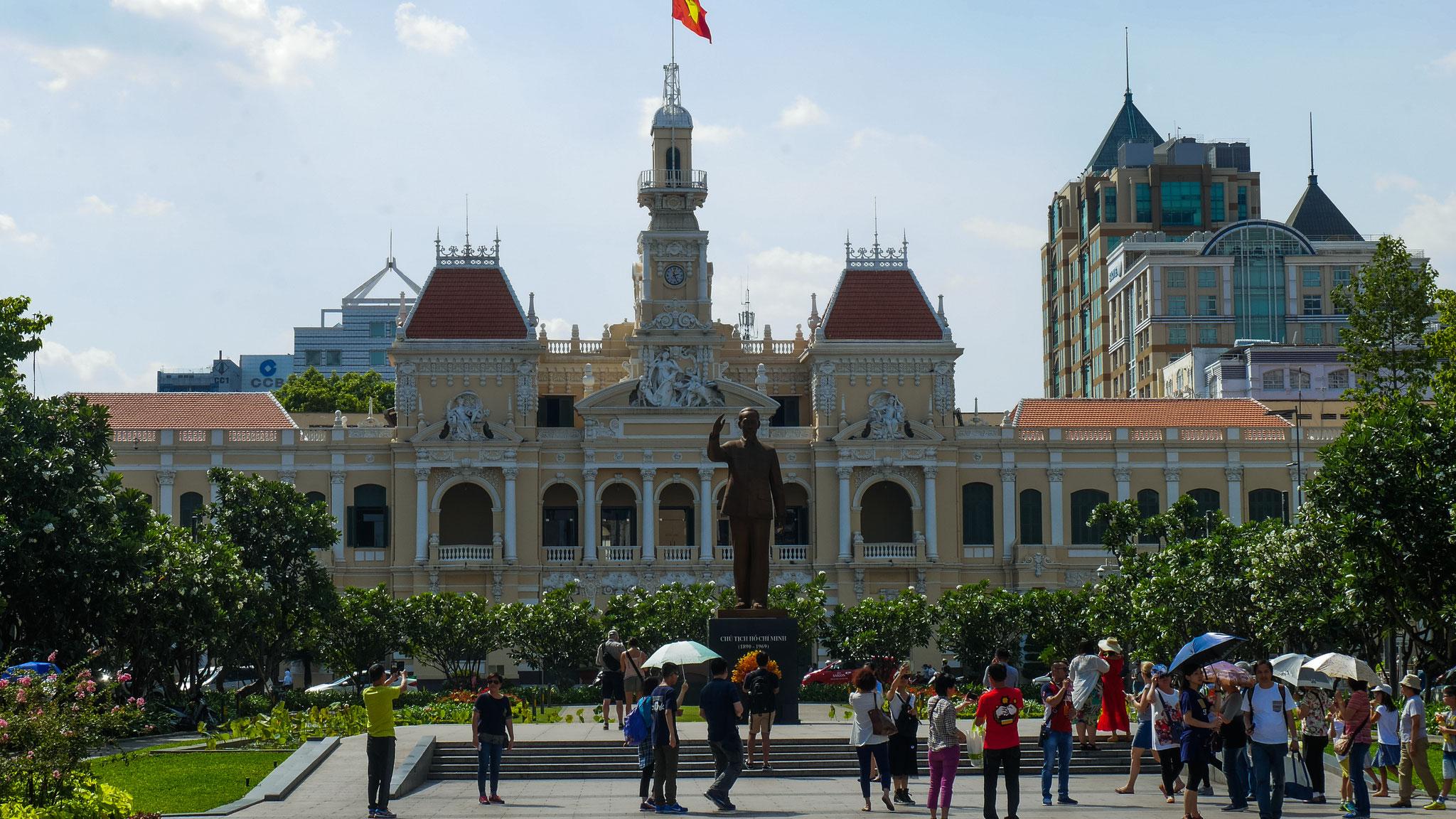 Ho-Chi-Minh-Stadt (Saigon) - Rathaus