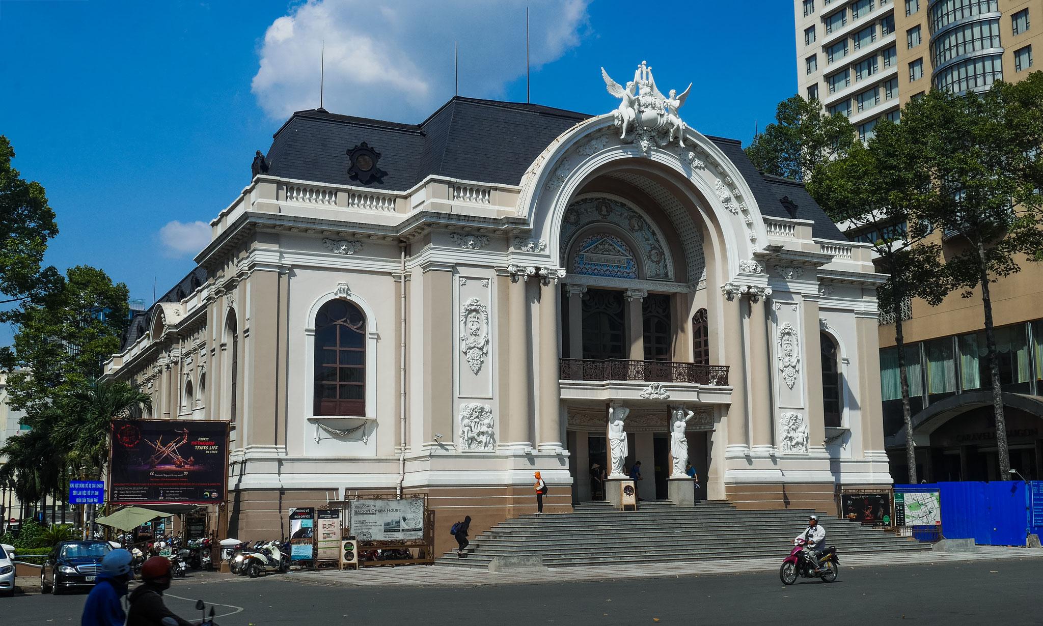 Ho-Chi-Minh-Stadt (Saigon) - Opernhaus