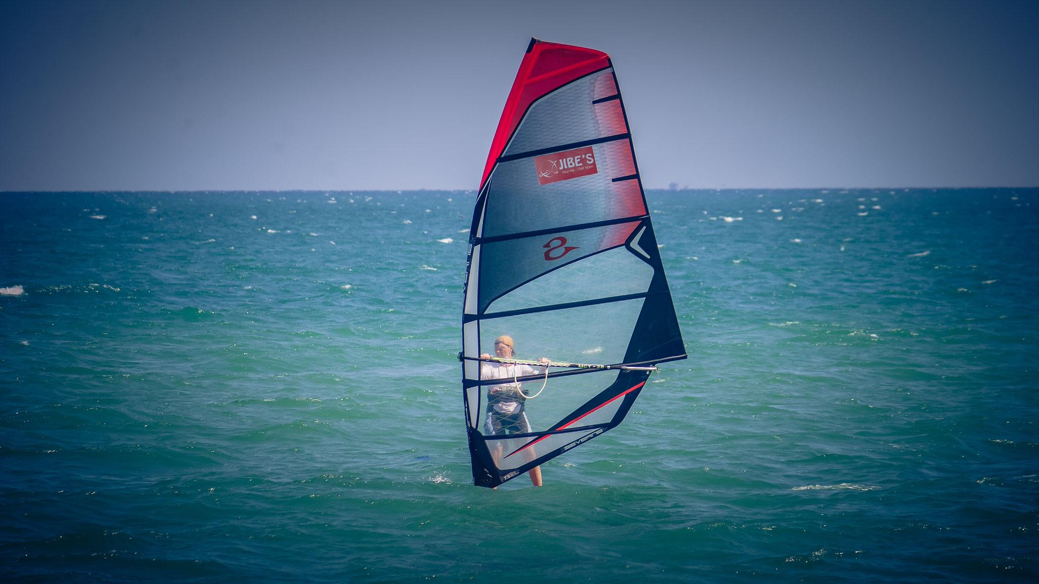 Phan Tiet (Mui Ne) - beim Surfen