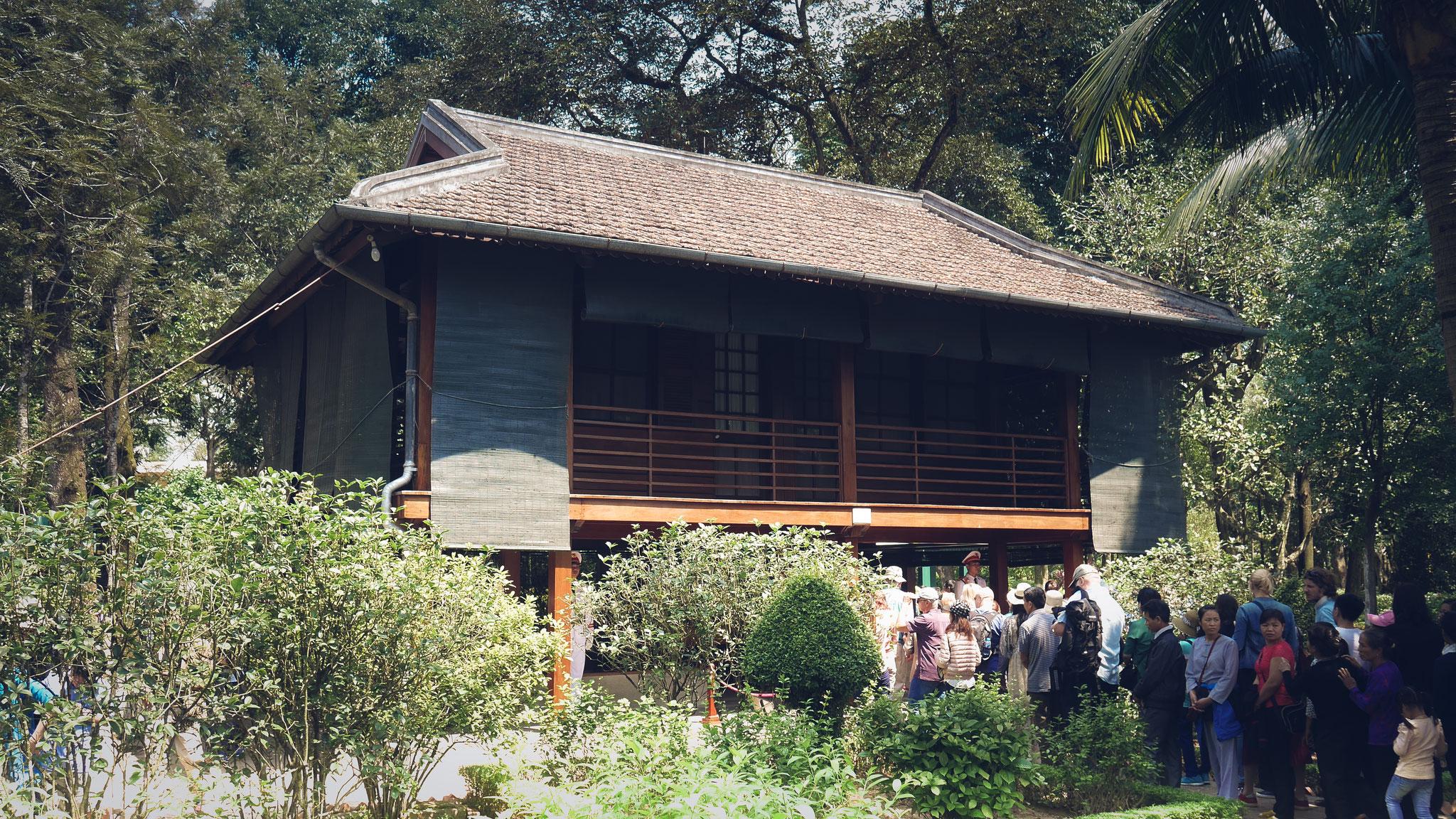 Hanoi - Wohnhaus von Onkel Ho