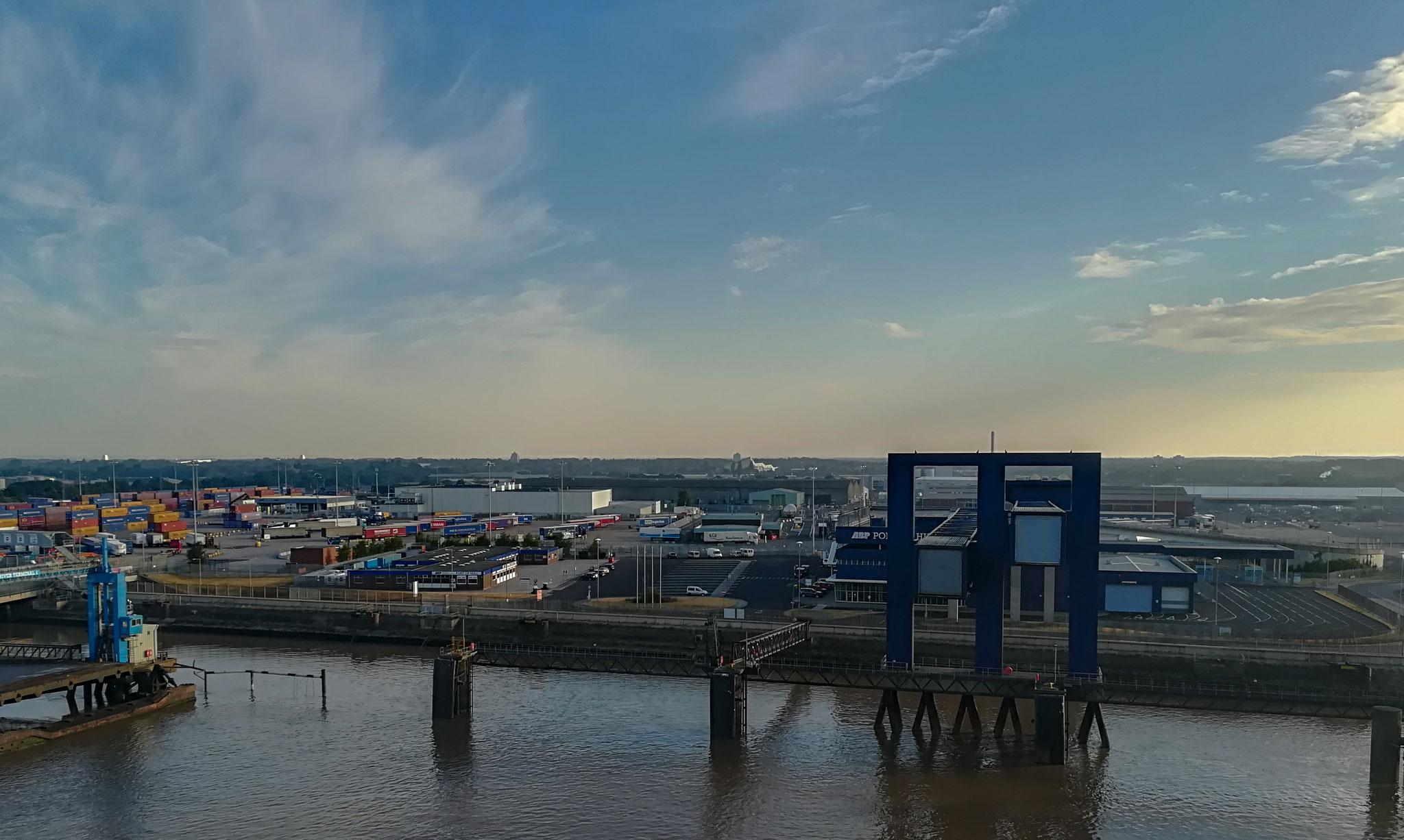 Ankunft in Hull