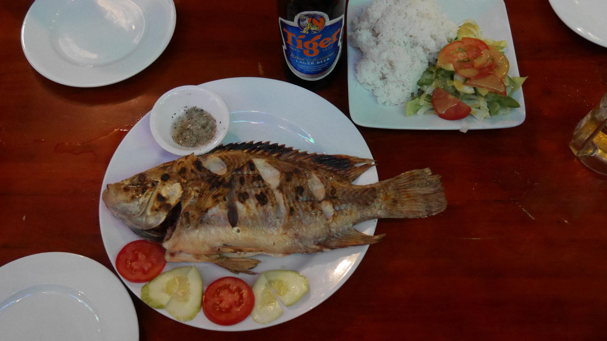 Nha Trang - unser Abendessen