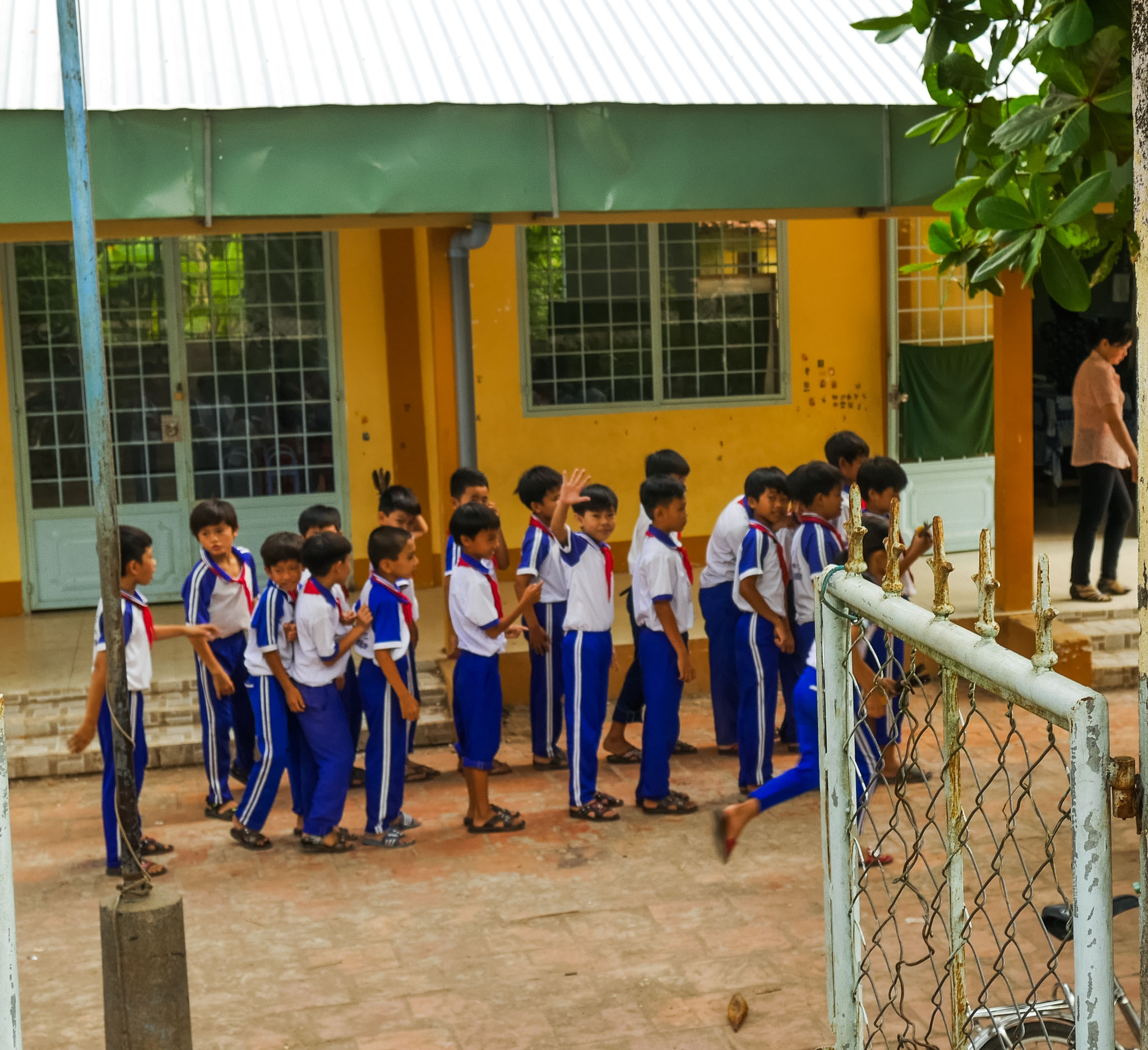 unterwegs im Mekong Delta
