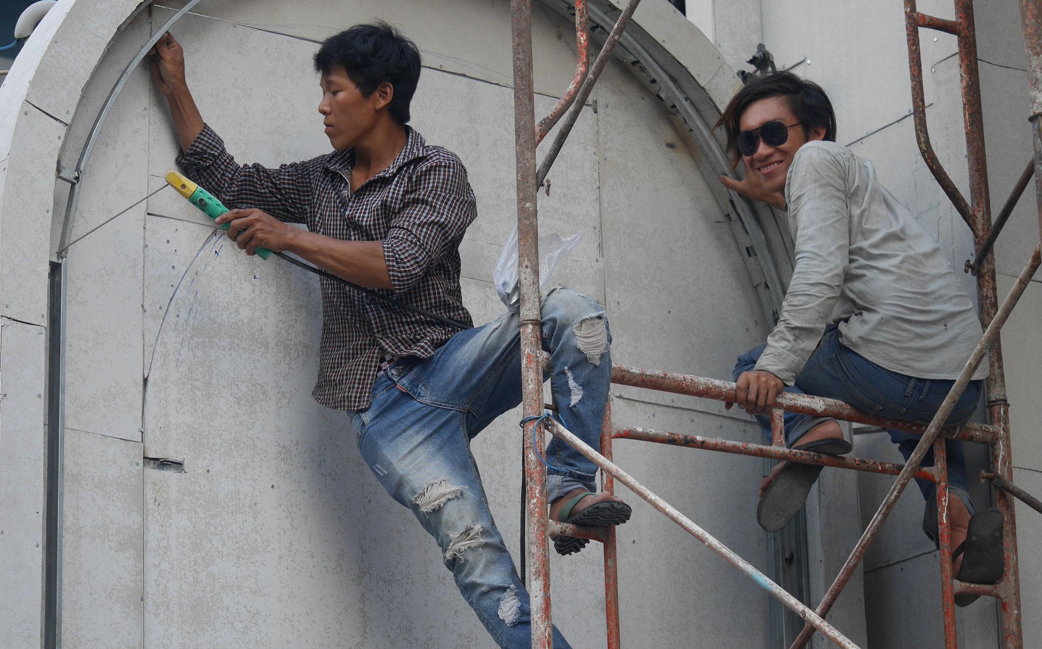 Ho-Chi-Minh-Stadt (Saigon) - Arbeitsschutz ????