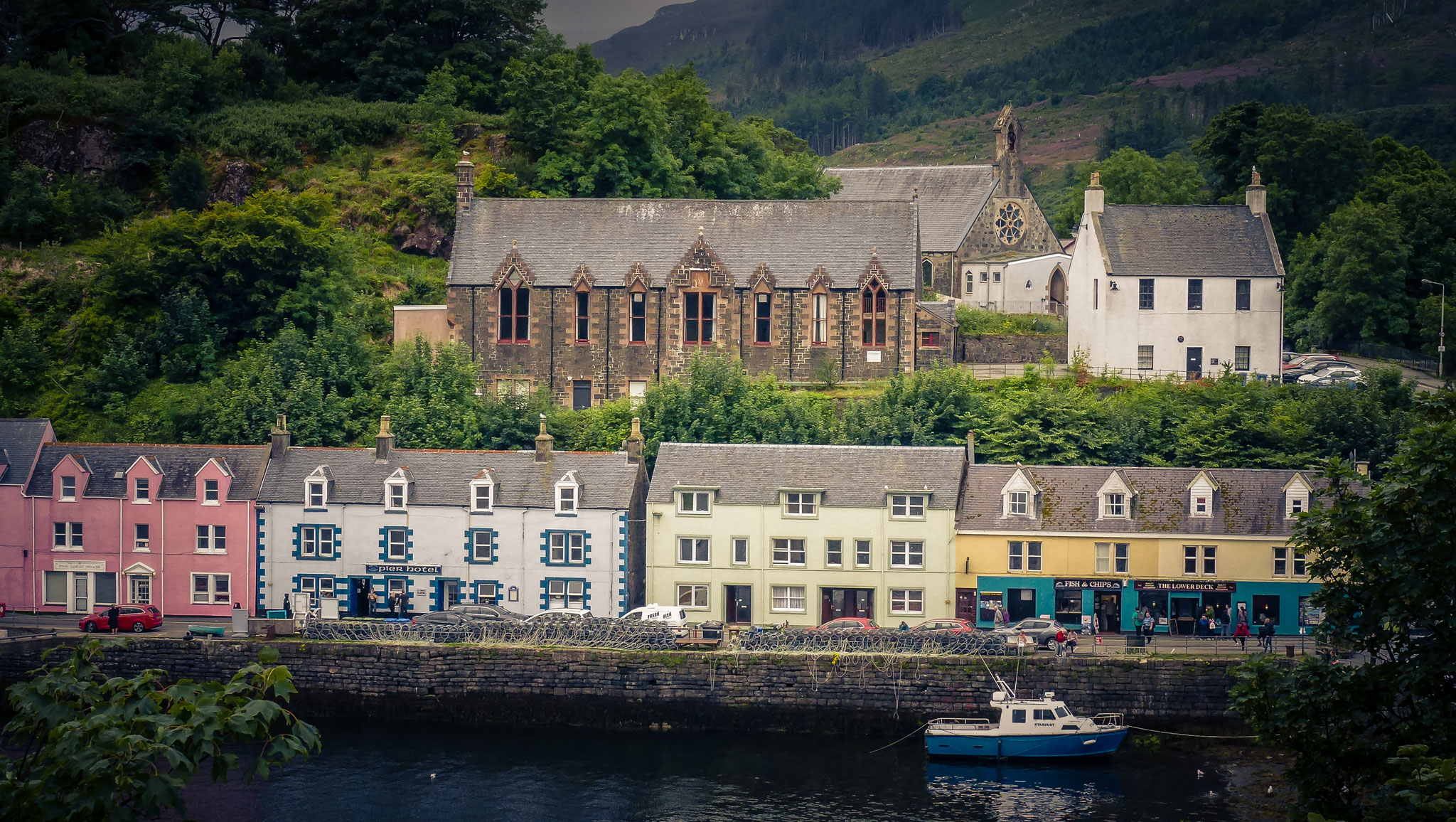 Portree  - Horbour