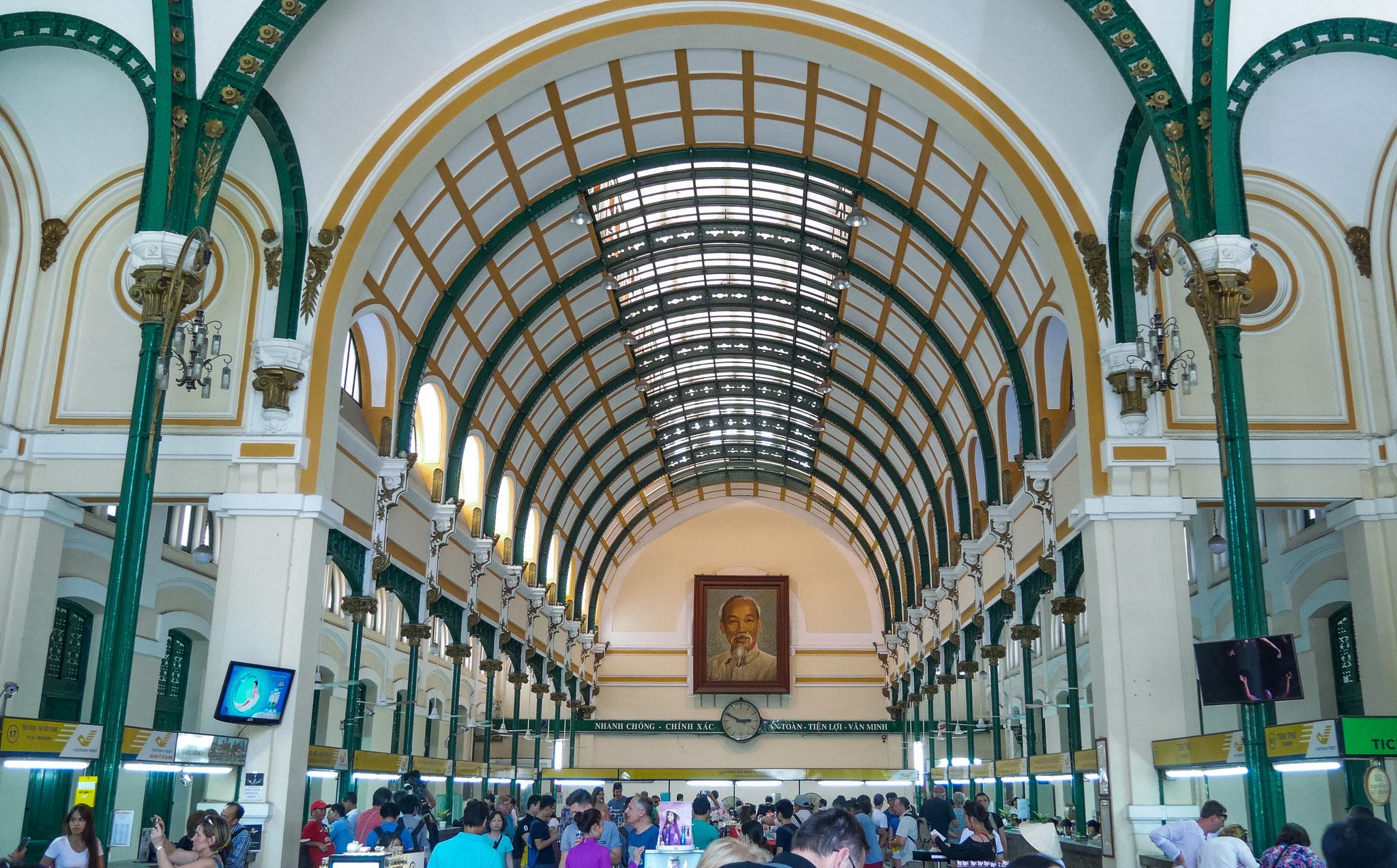 Ho-Chi-Minh-Stadt (Saigon) - Das Hauptpostamt