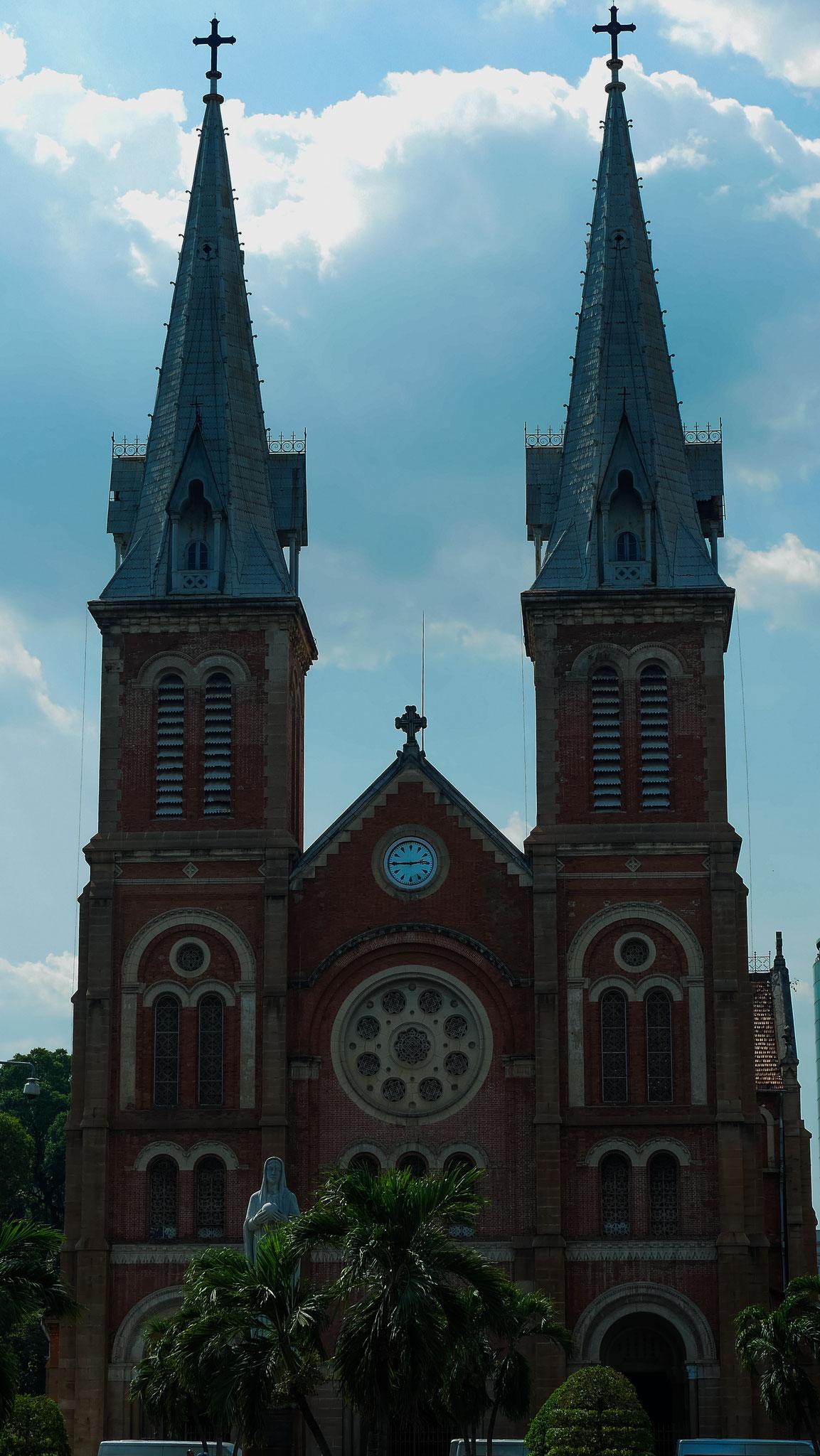 Ho-Chi-Minh-Stadt (Saigon) - Notre Dame Kathedrale