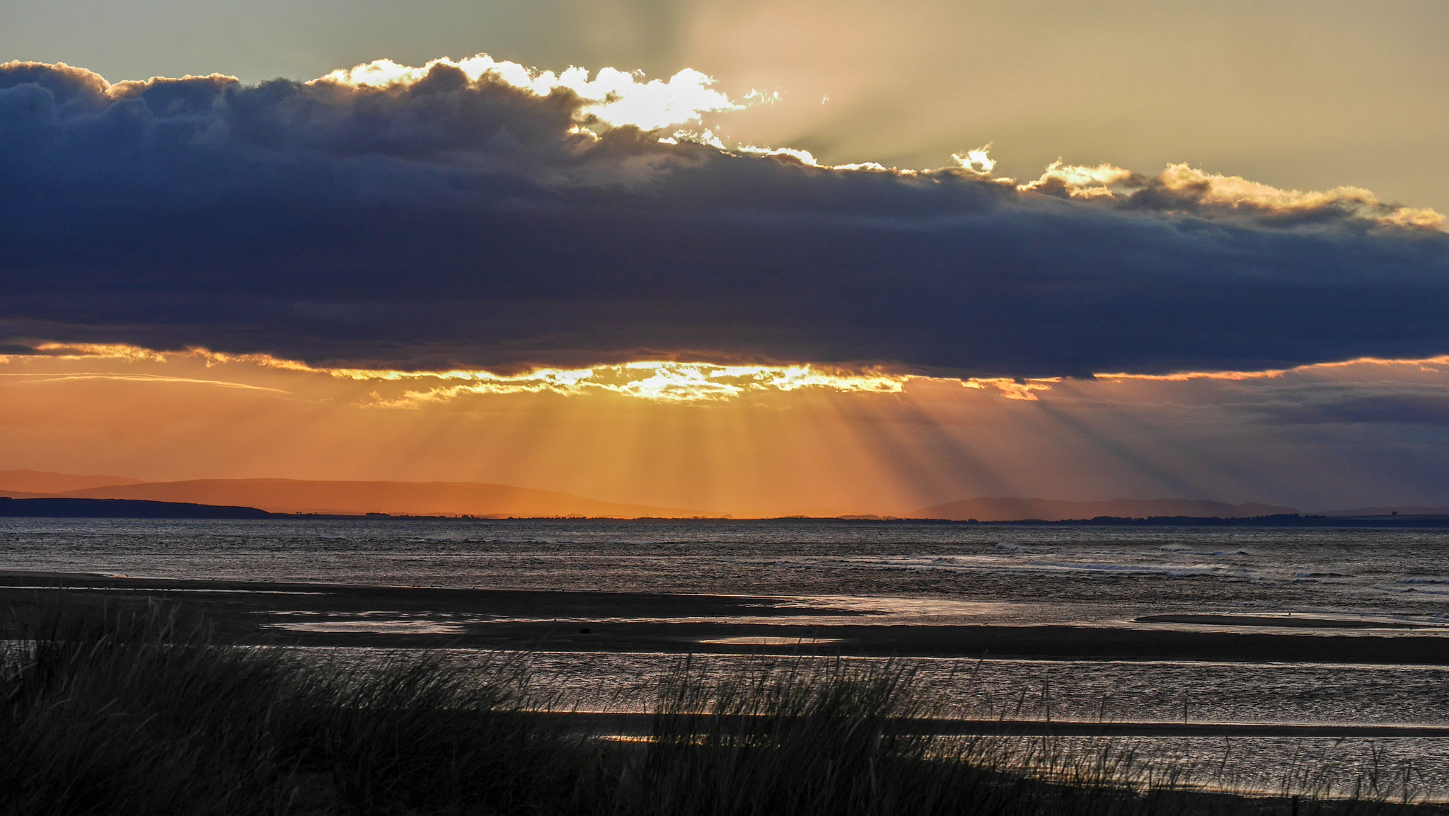 Sunset - Findhorn Beach