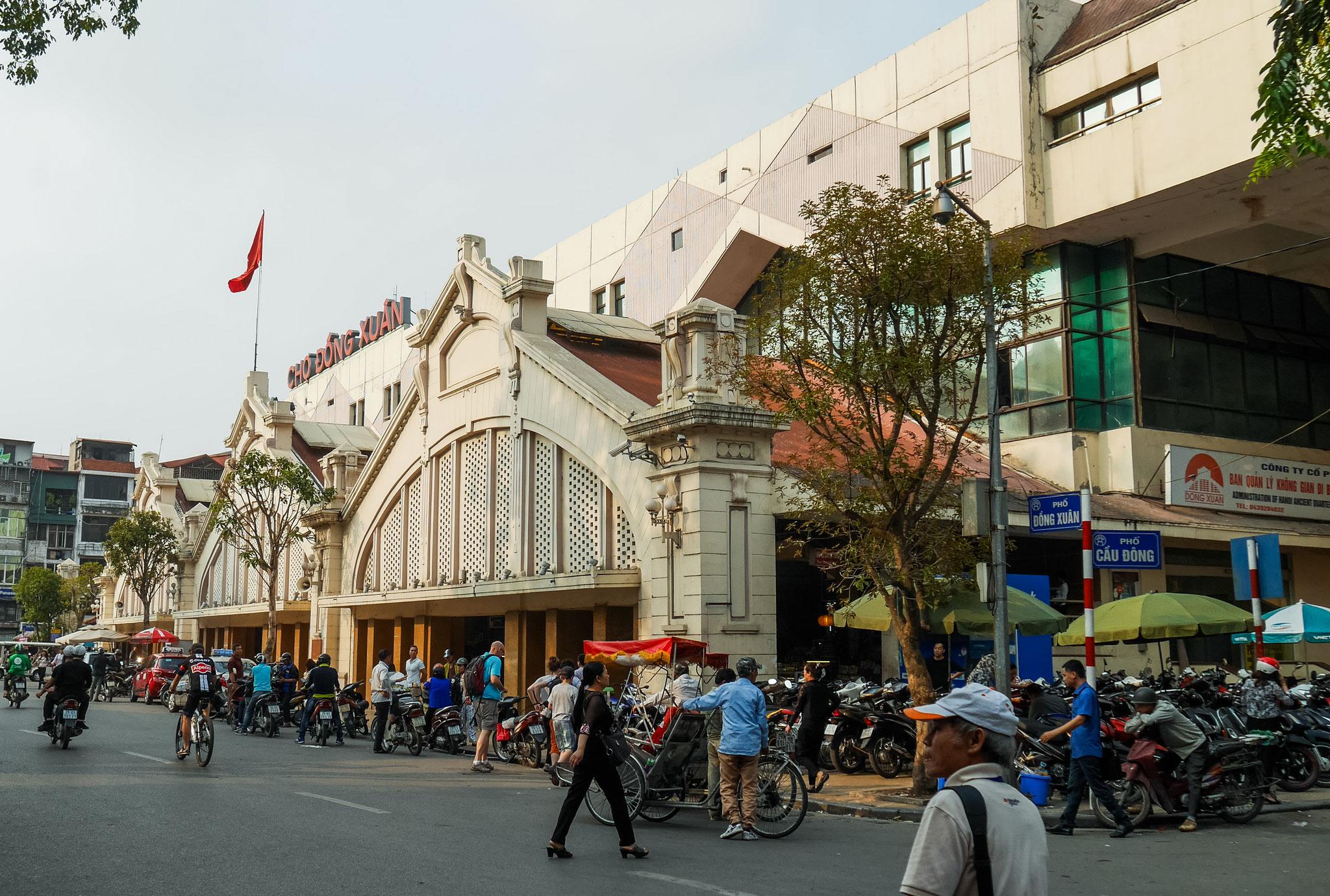Hanoi - Dong-Xuan- Markthalle
