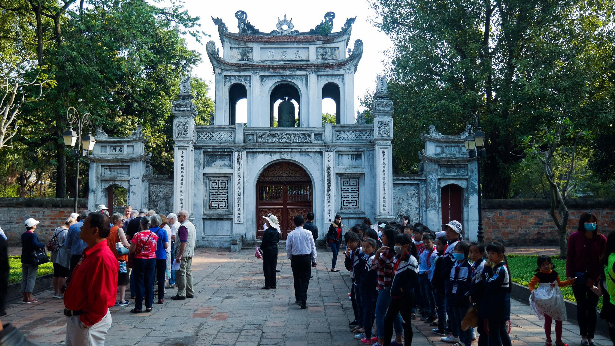 Hanoi - Literaturtempel