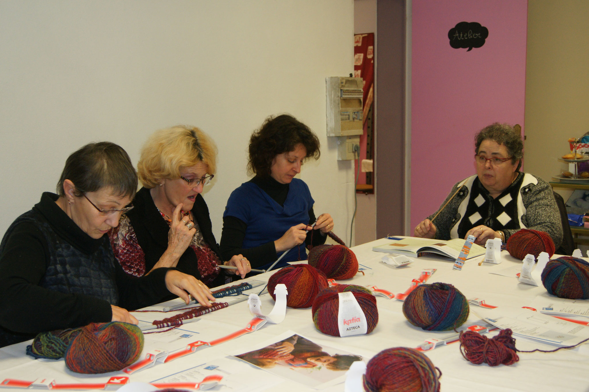 Les ateliers créatifs tricot de Lulu Coquelicot