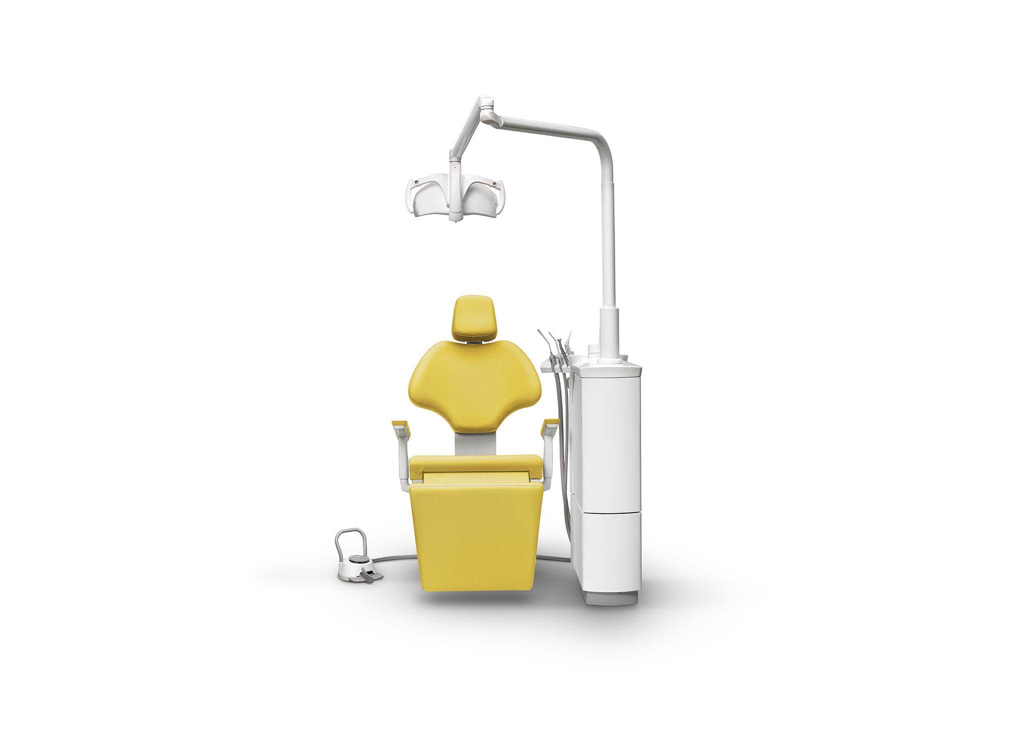 SD-710 Patientenstuhl S7 + SD-60 (Prophylaxe/ KFO-Einheit)