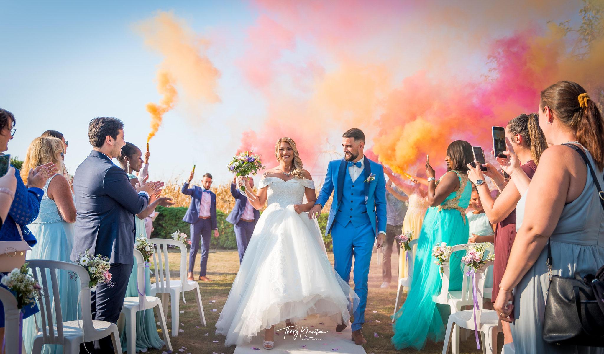 La Sortie des mariés Crédit Photo: Thavy Khamtan