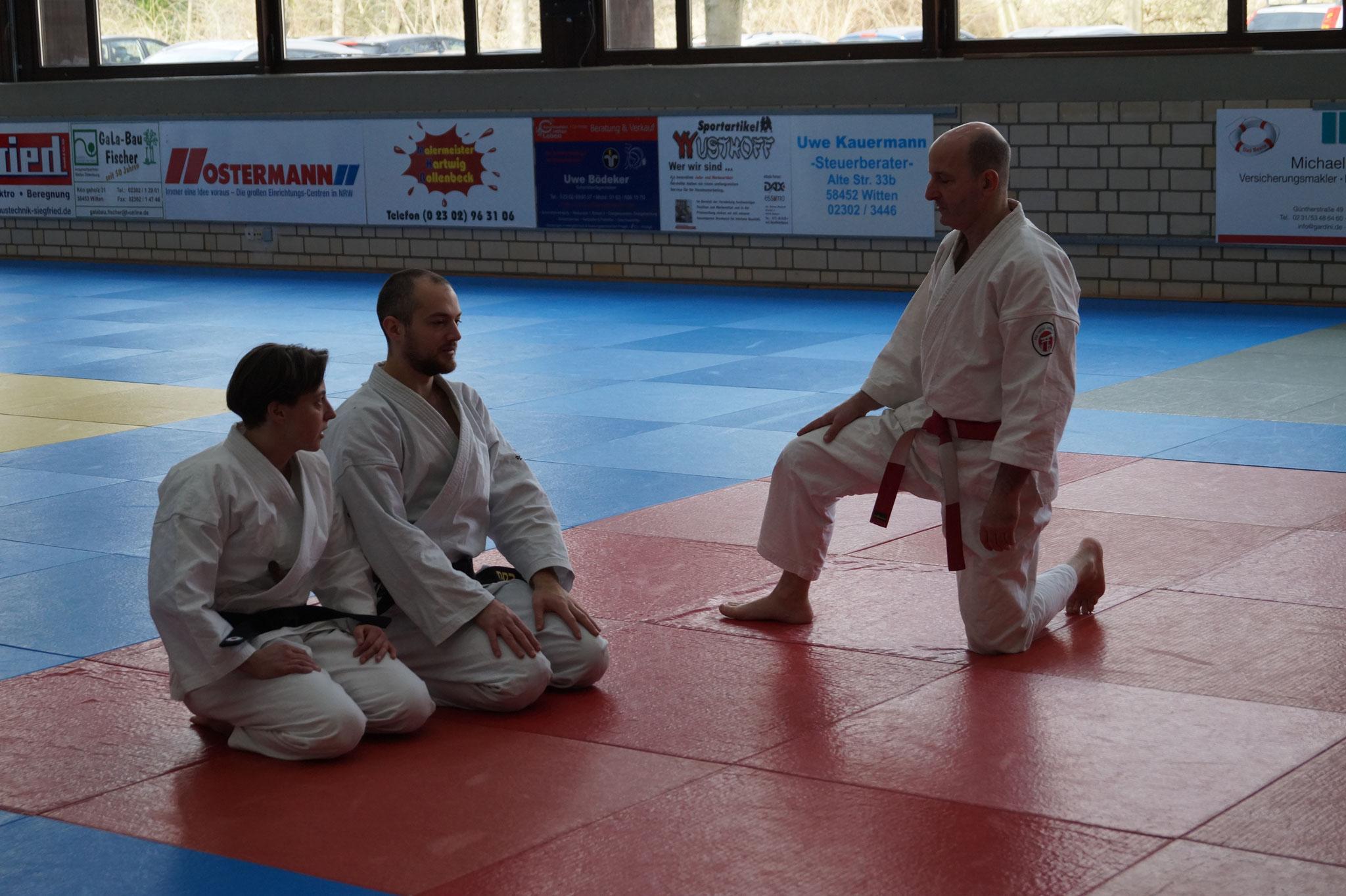Kata Lehrgang 2020 der Jiu Jitsu Union NW
