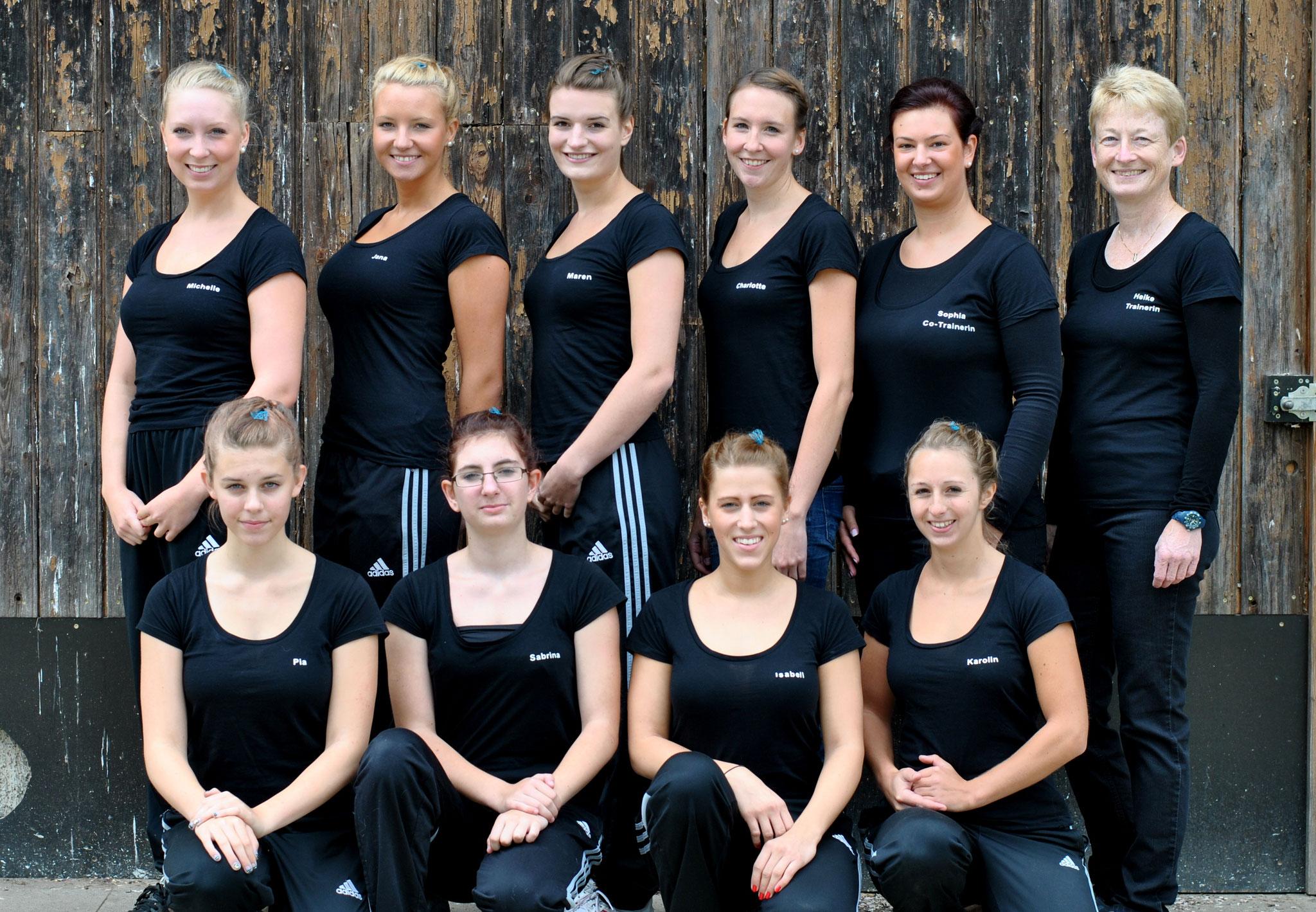 Die Turniermannschaft in 2012