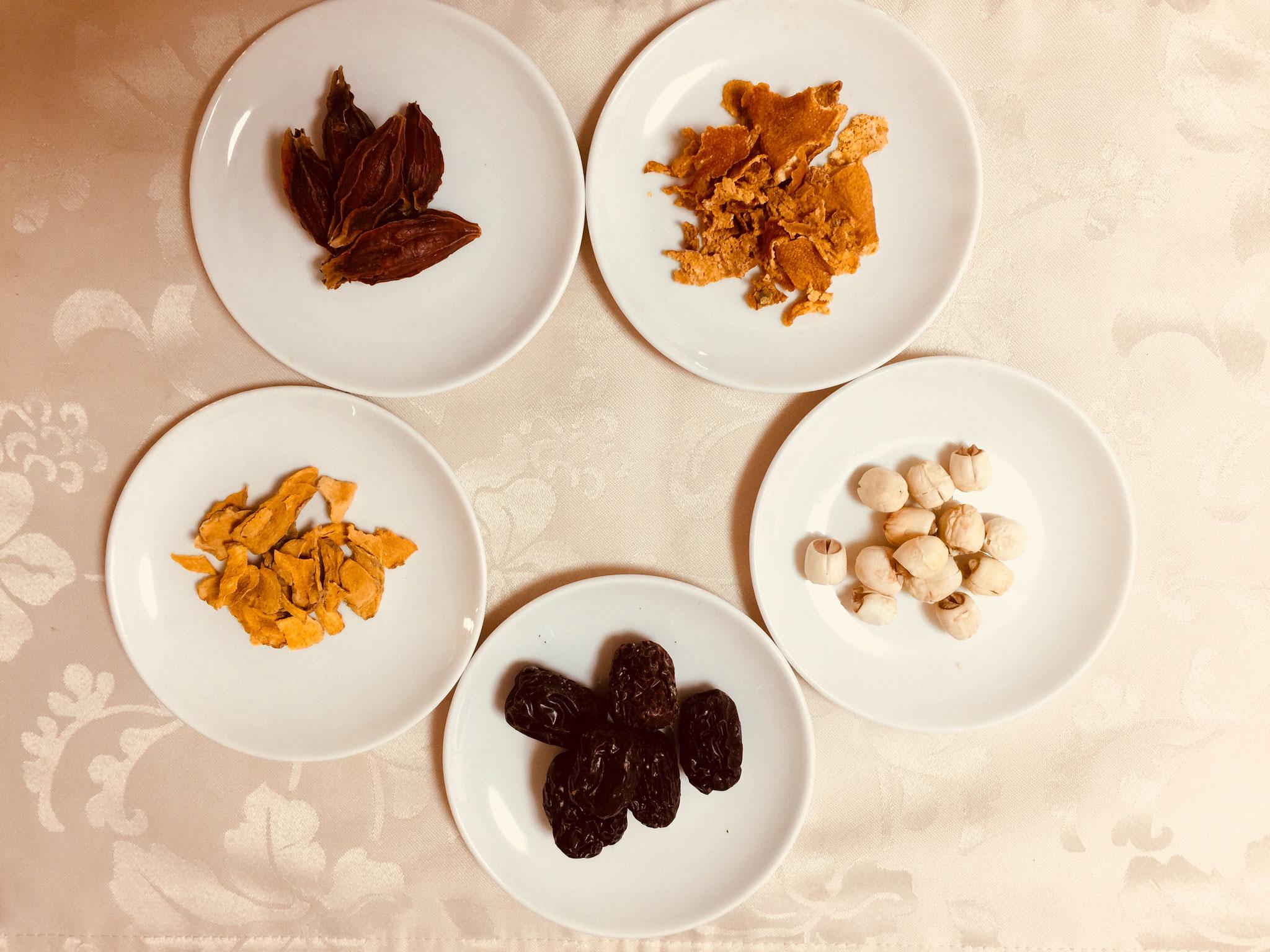 薬膳ごはんにおすすめ食材(中薬)
