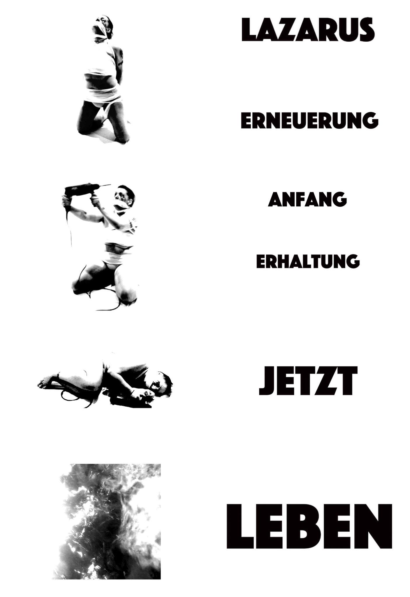 """""""Projekt Lazarus No.0 - Von der dunklen in die helle Zone""""  Videostill 2020"""