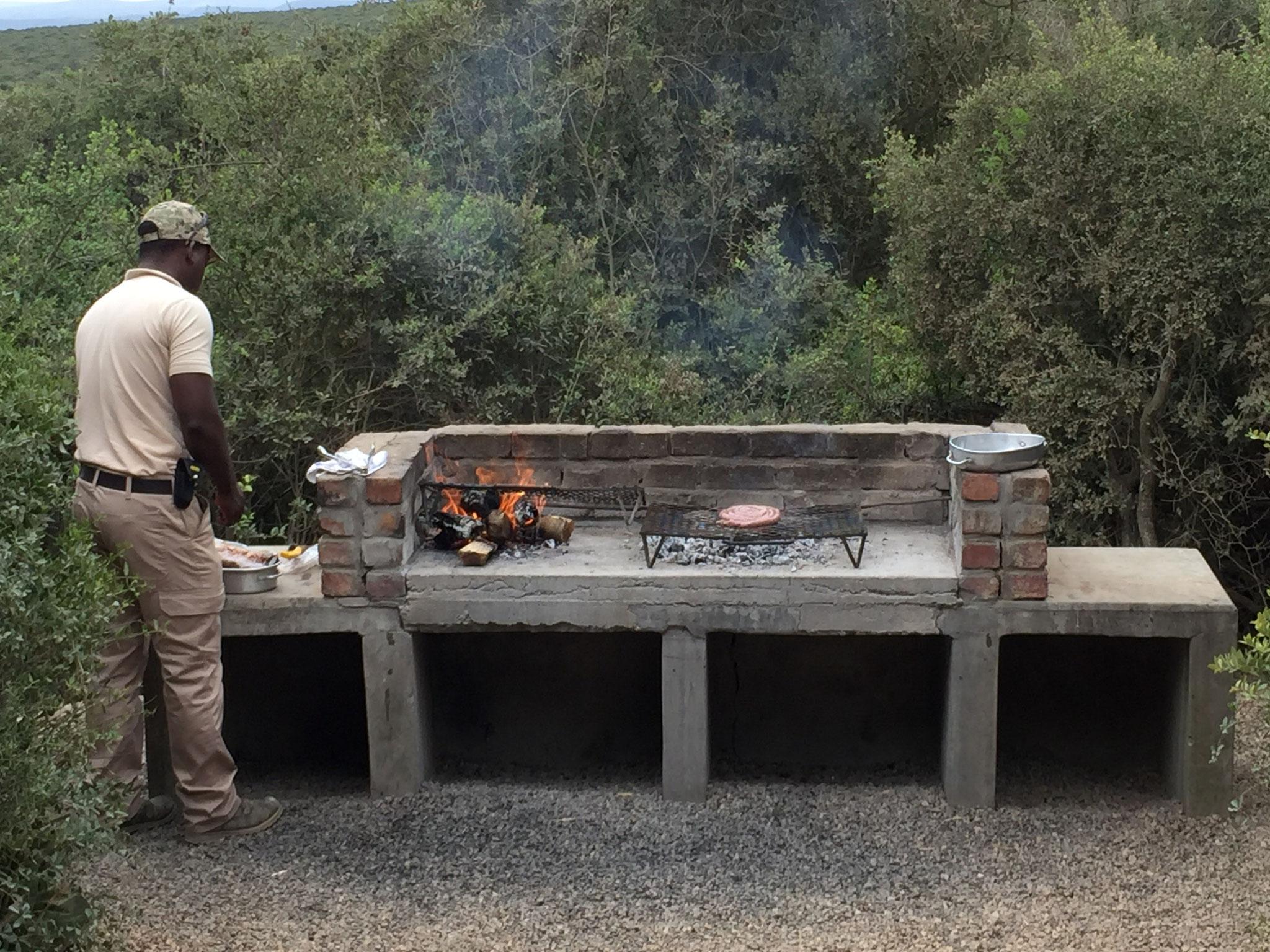BBQ nennt man in Südafrika Braai