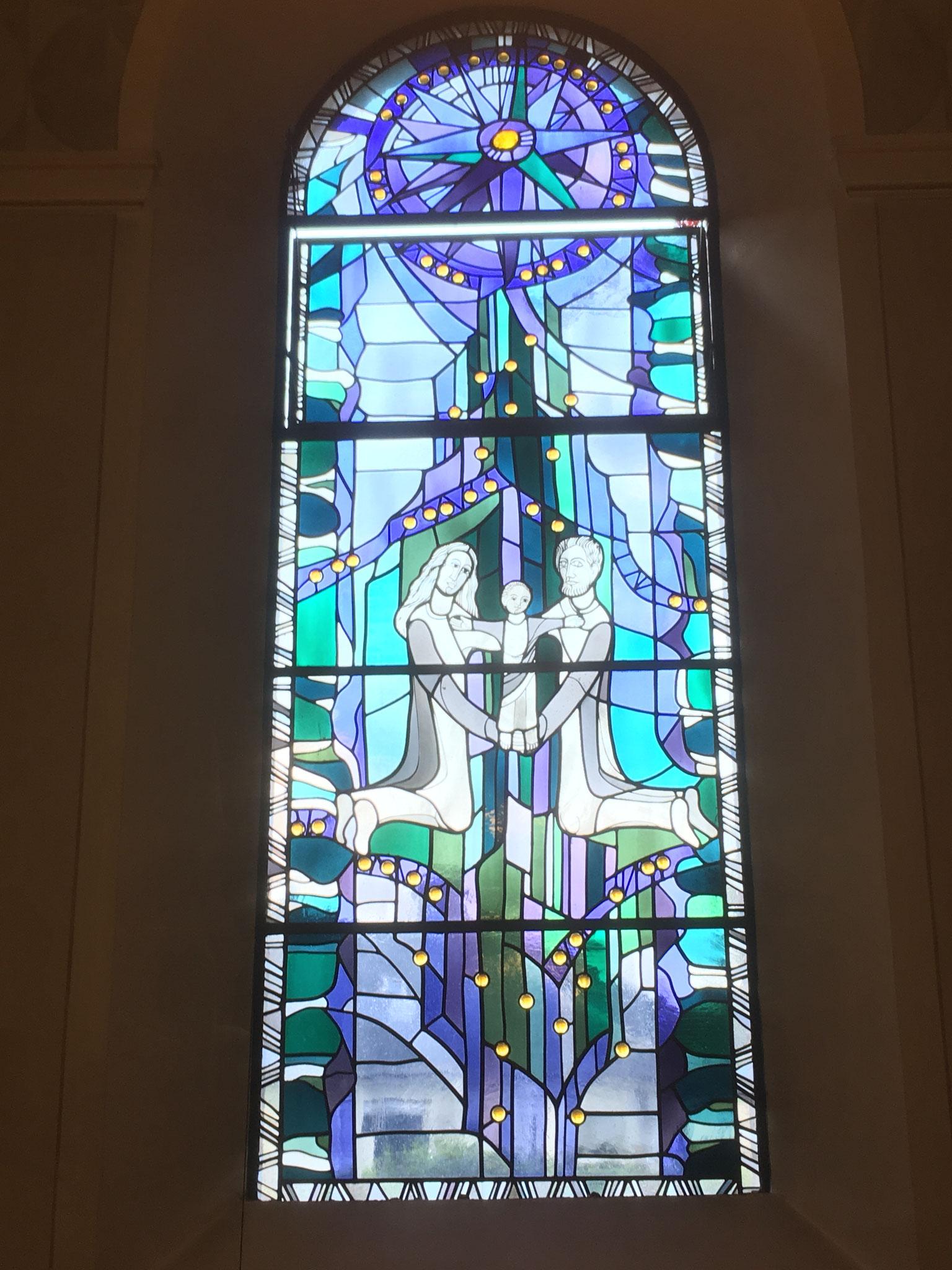Kirchenfenster in St. Liborius