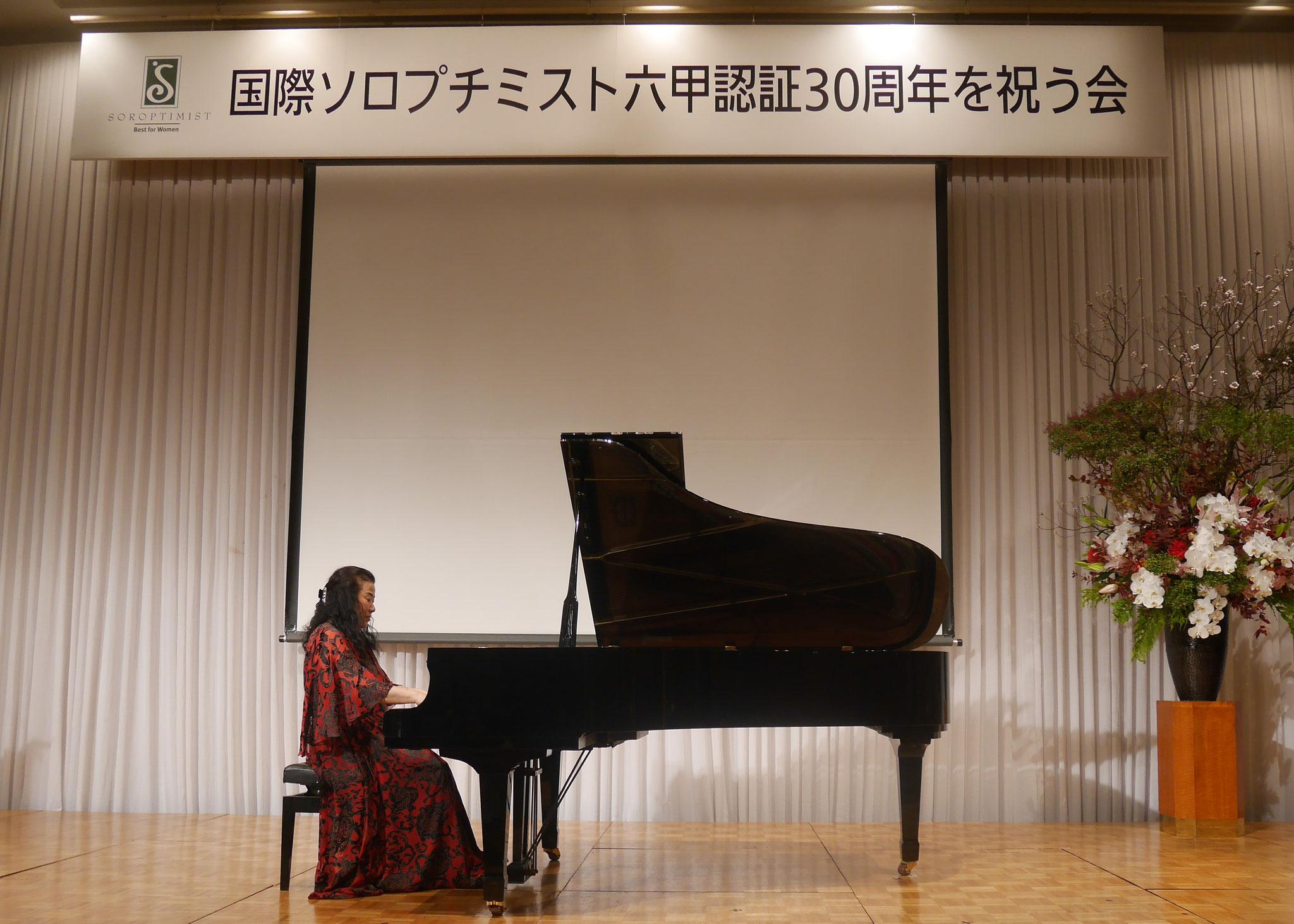 ピアノコンサート 久本祐子