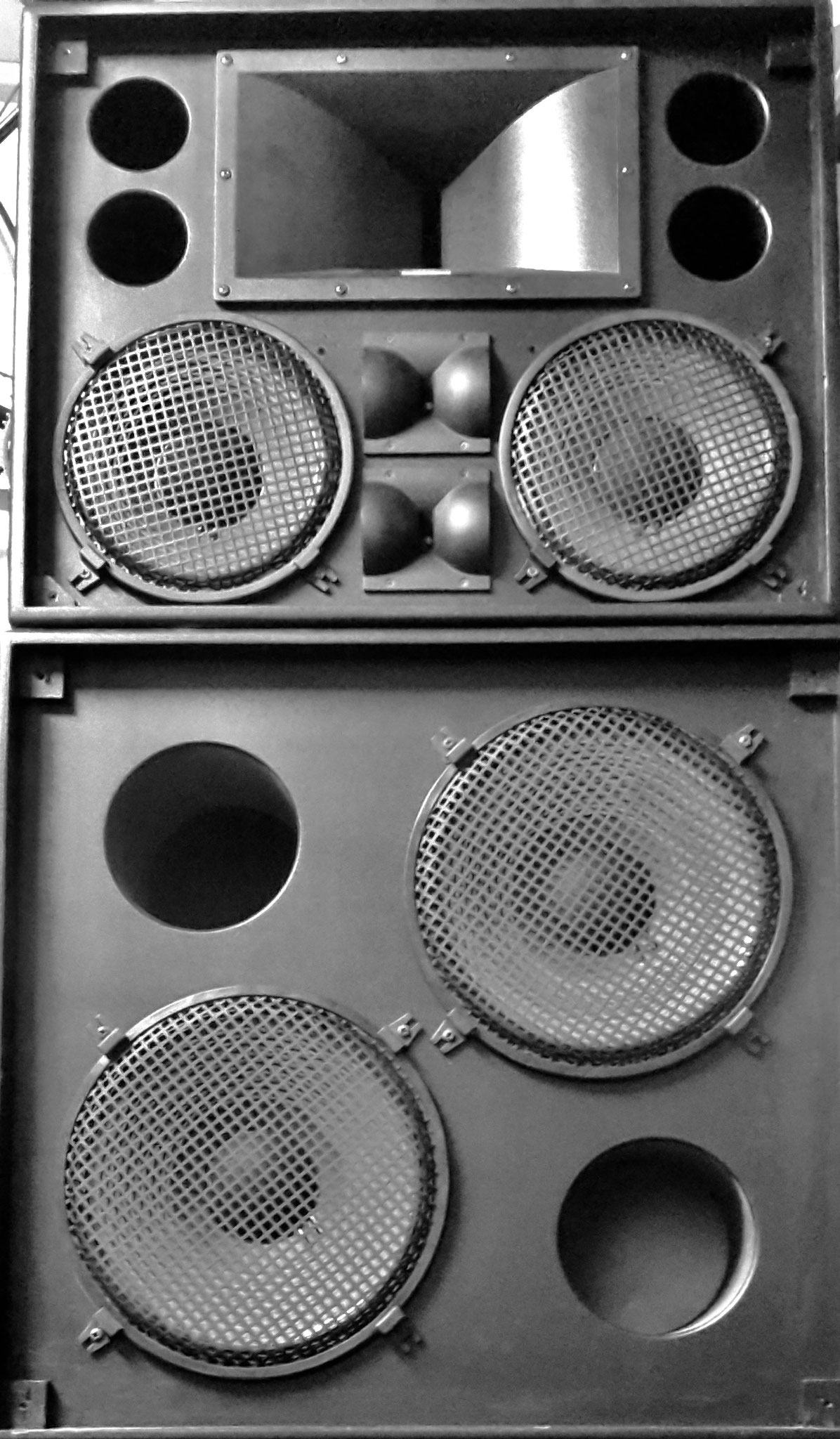 Part of the Sound System @ Club FREUD Frankfurt