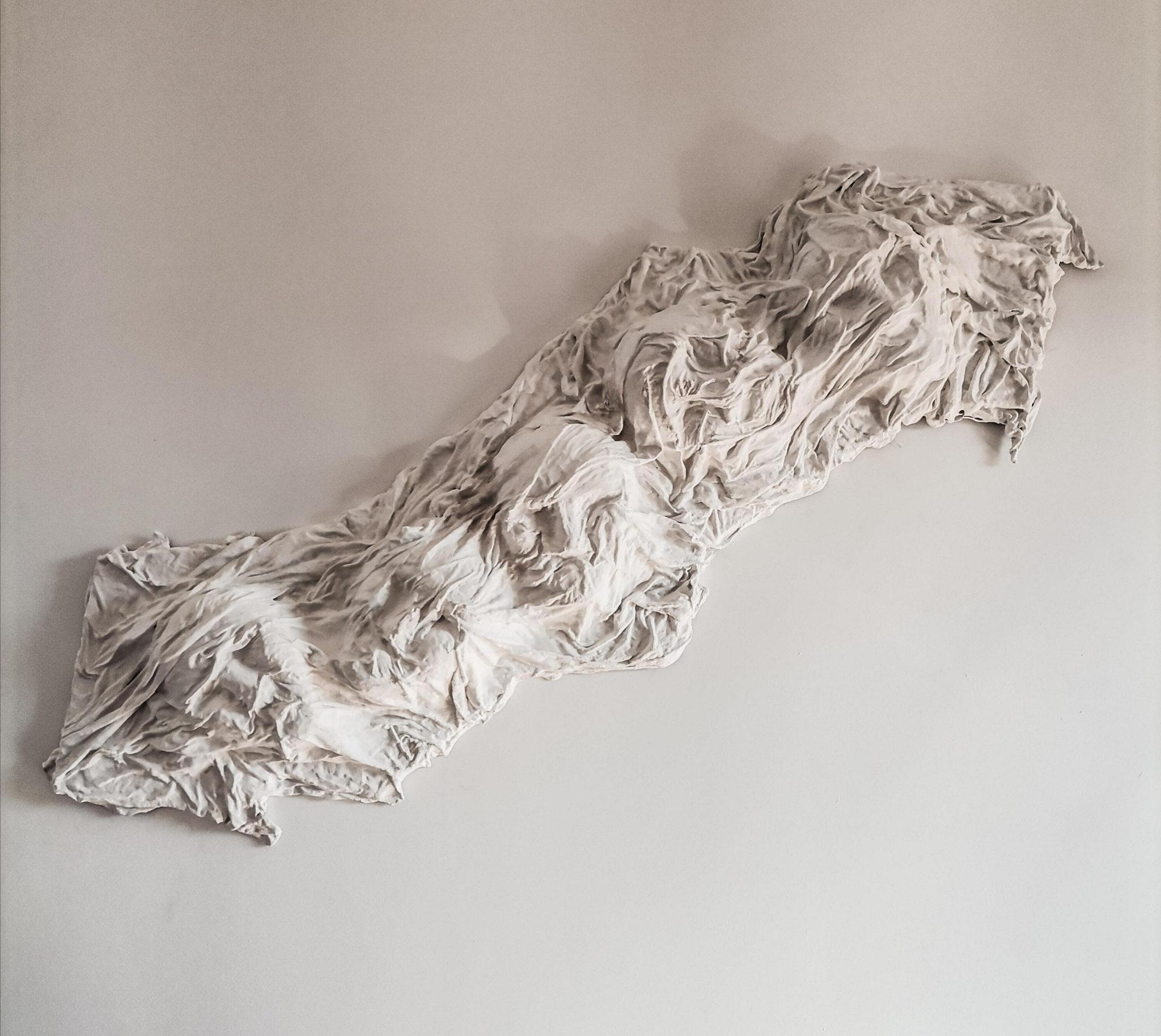 HEAVY SLEEP, mixed media (2021), commissioned work